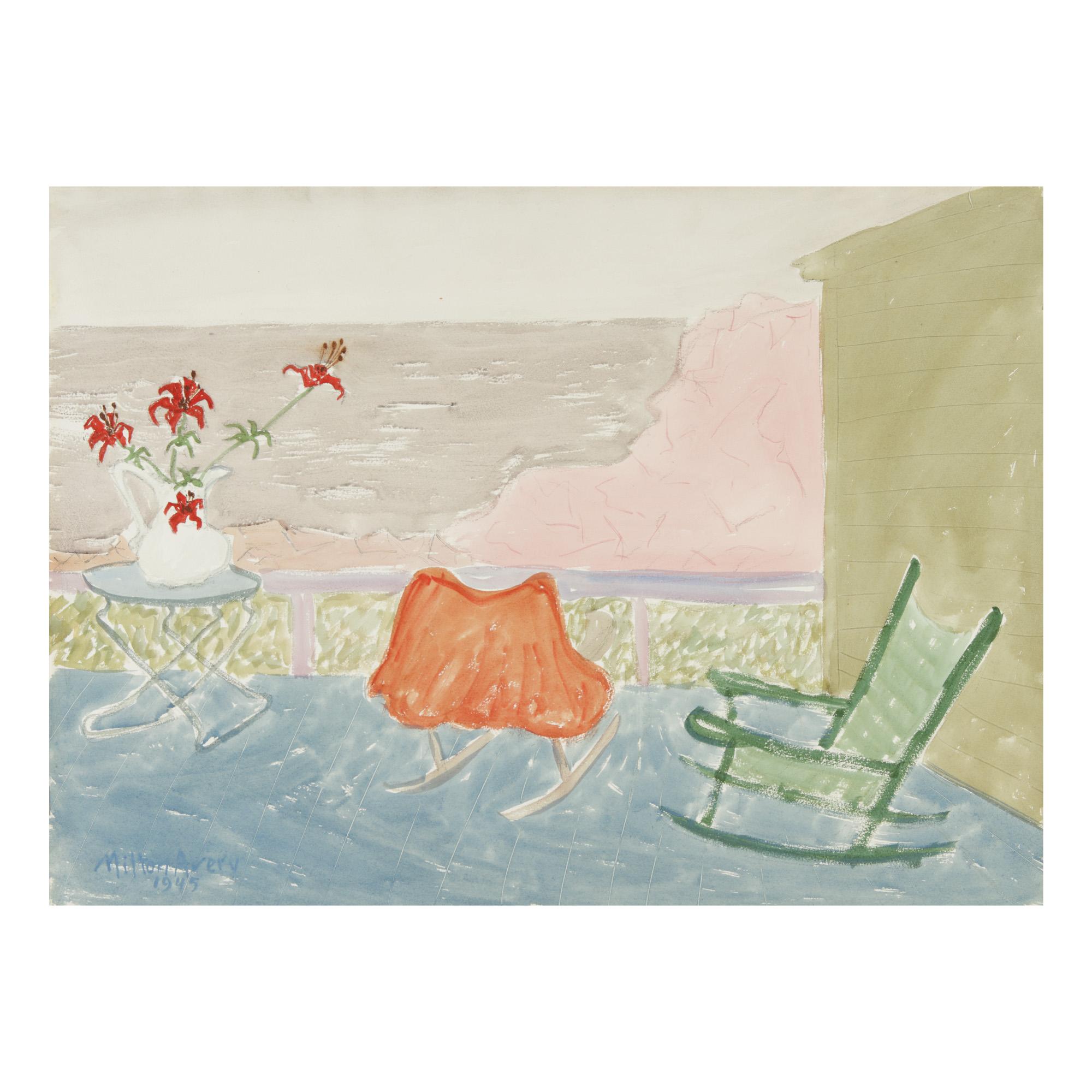 MILTON AVERY | SEA SIDE PORCH