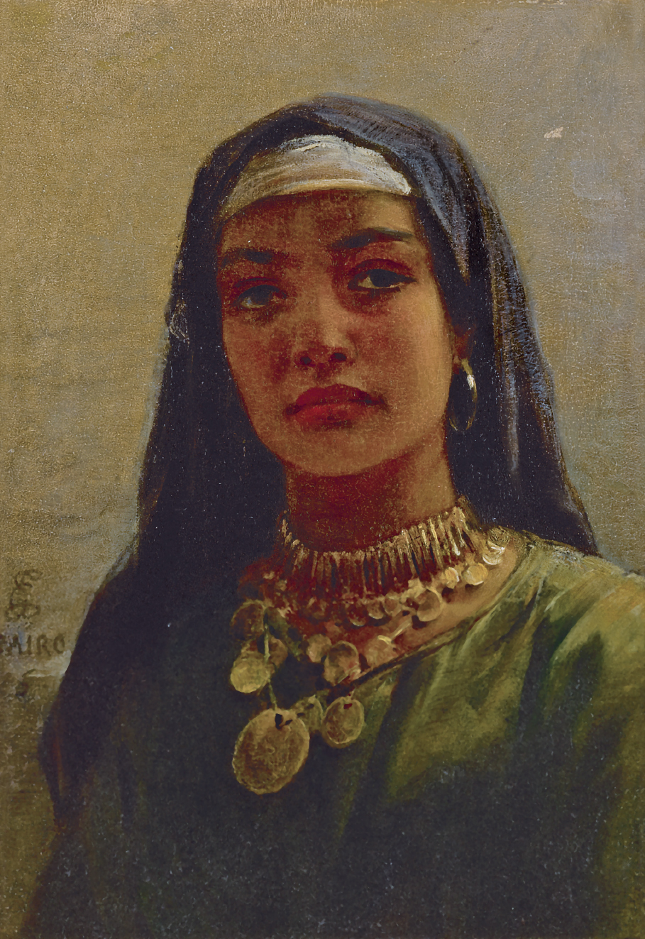 EDWIN LONGSDEN LONG, R.A. | Egyptian Beauty