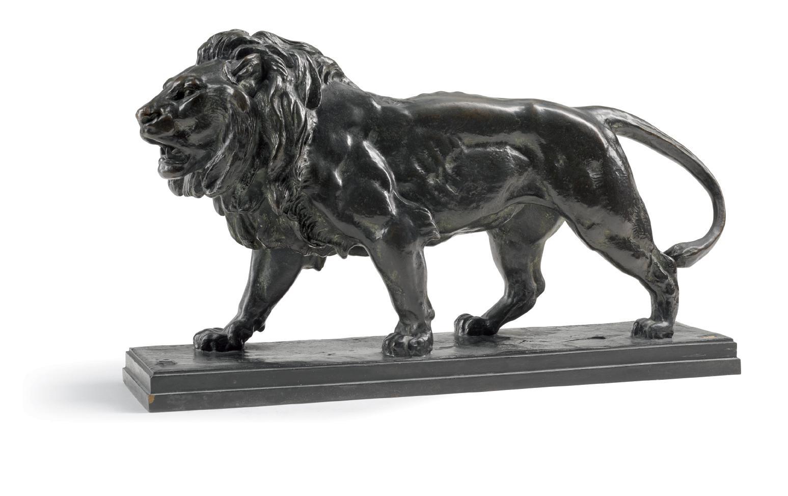 ANTOINE-LOUIS BARYE | LION QUI MARCHE (WALKING LION)