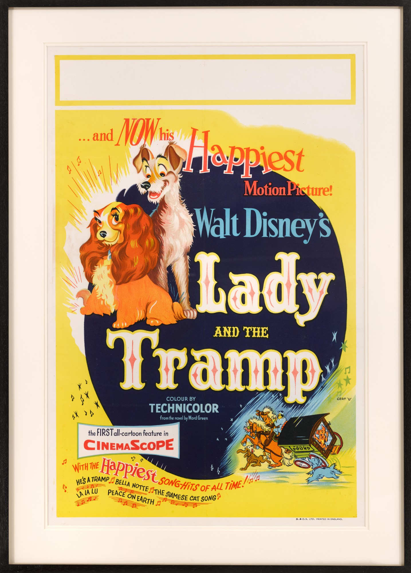 Lady And The Tramp 1955 Poster British Original Film Posters Online Collectibles Sotheby S