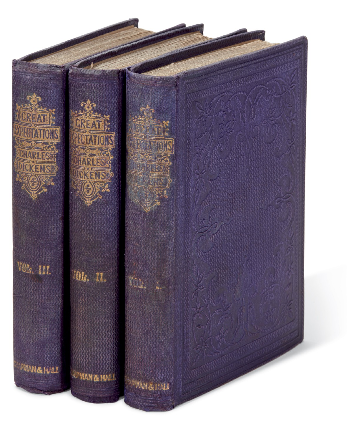 Dickens, Great Expectations, 1861, first edition, third impression