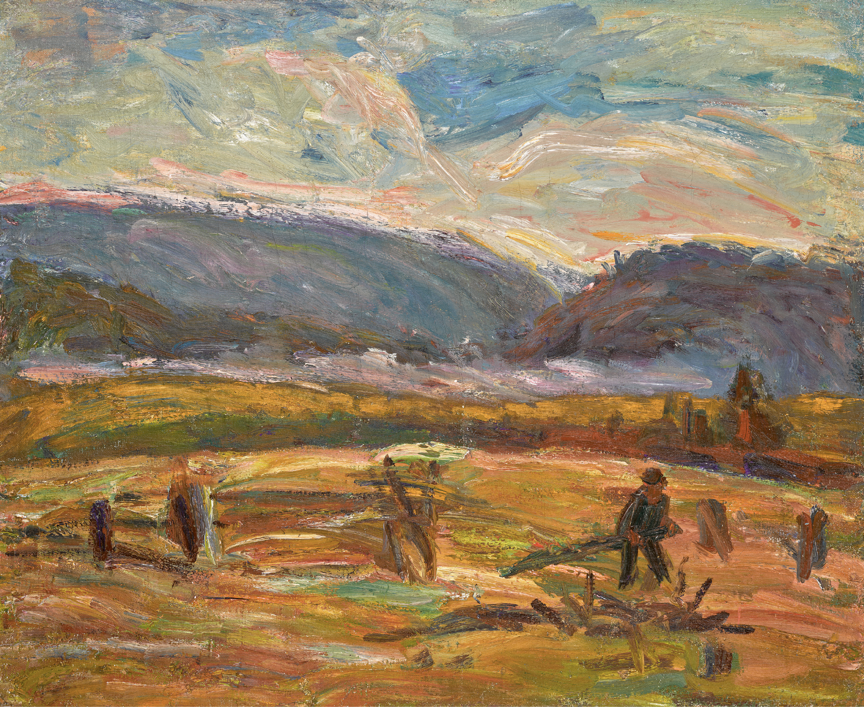 View full screen - View 1 of Lot 61. ALEXANDER DAVIDOVICH DREVIN | In the Urals .