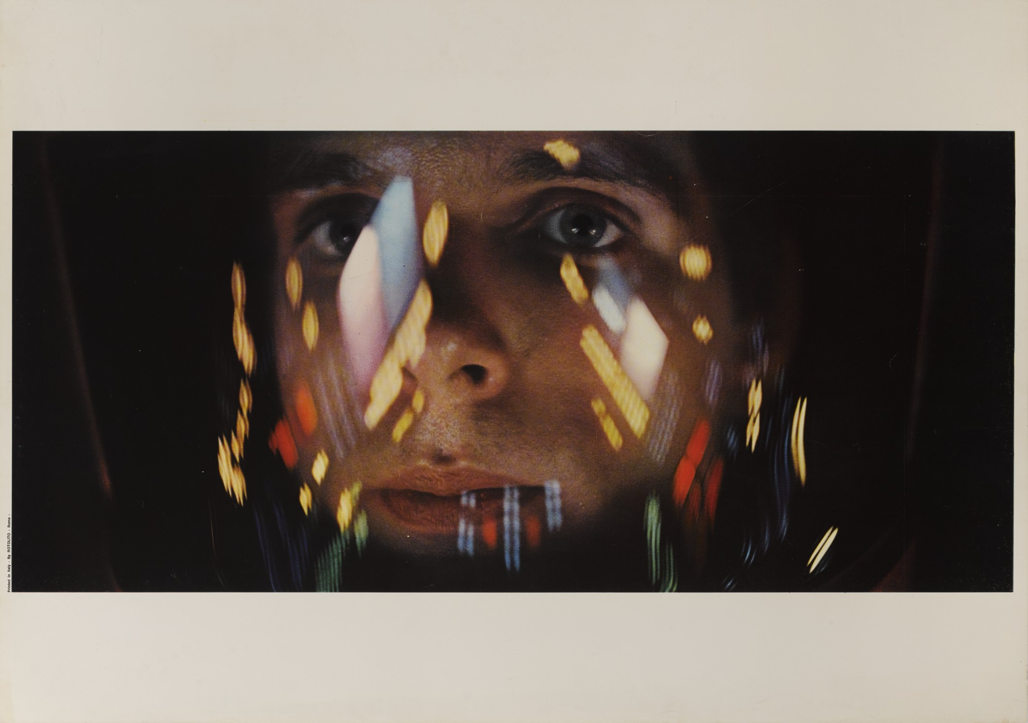 2001: A SPACE ODYSSEY (1968) POSTER, ITALIAN