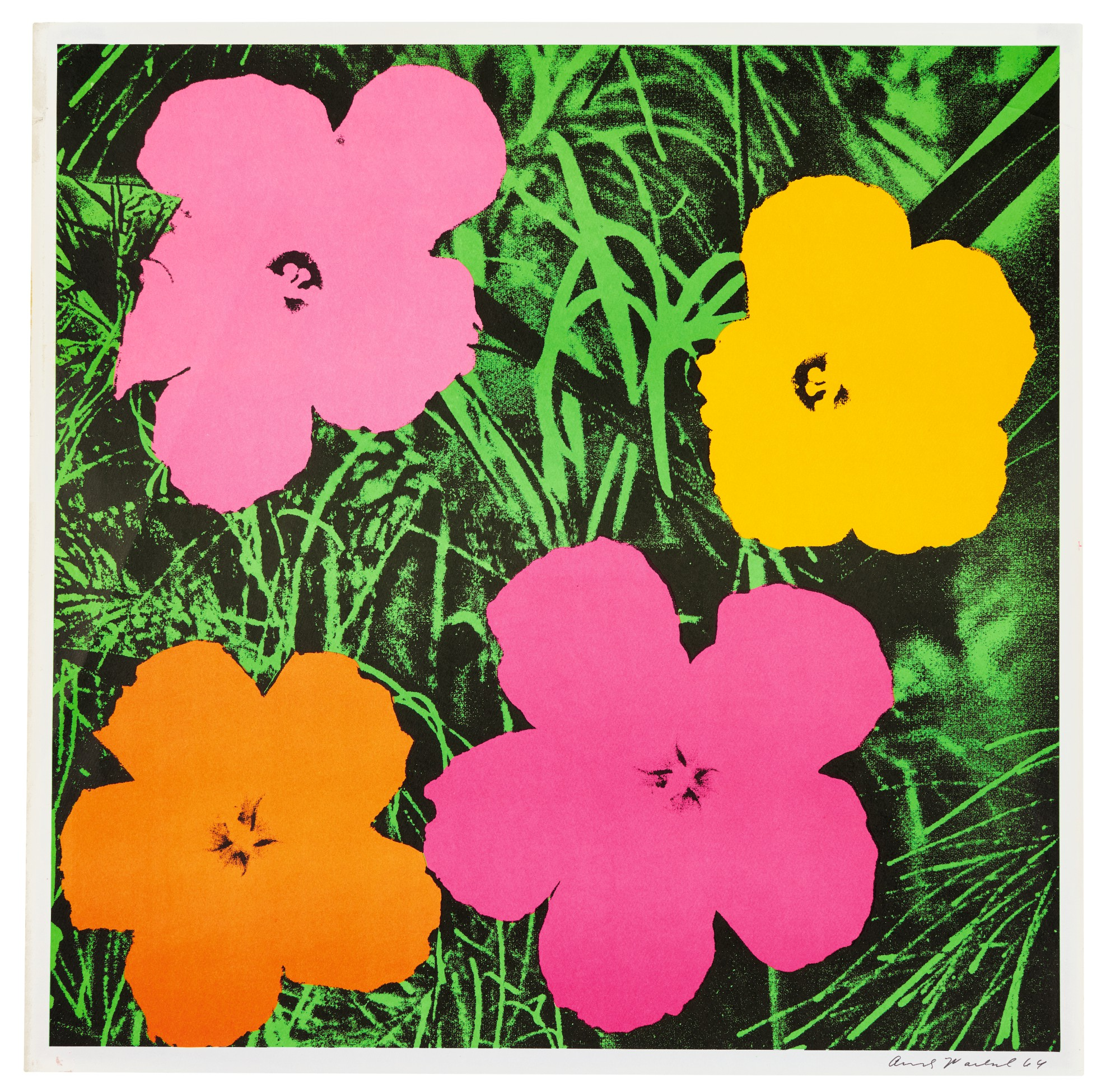 Andy Warhol Flowers F S Ii 6 Prints Multiples Sotheby S