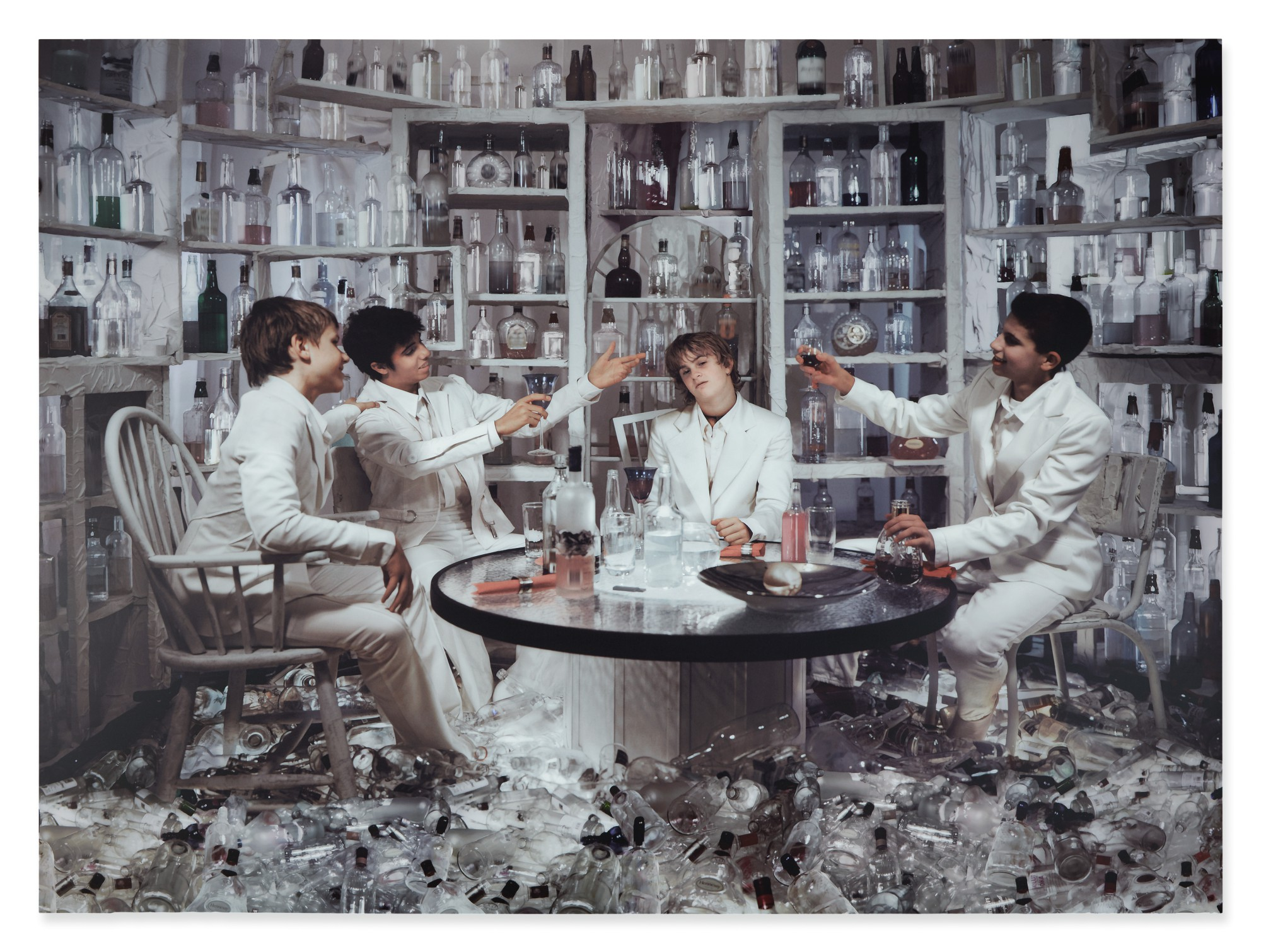 TIM WHITE SOBIESKI | LAB PARTY (BEFORE THEY WERE BEATLES SERIES)