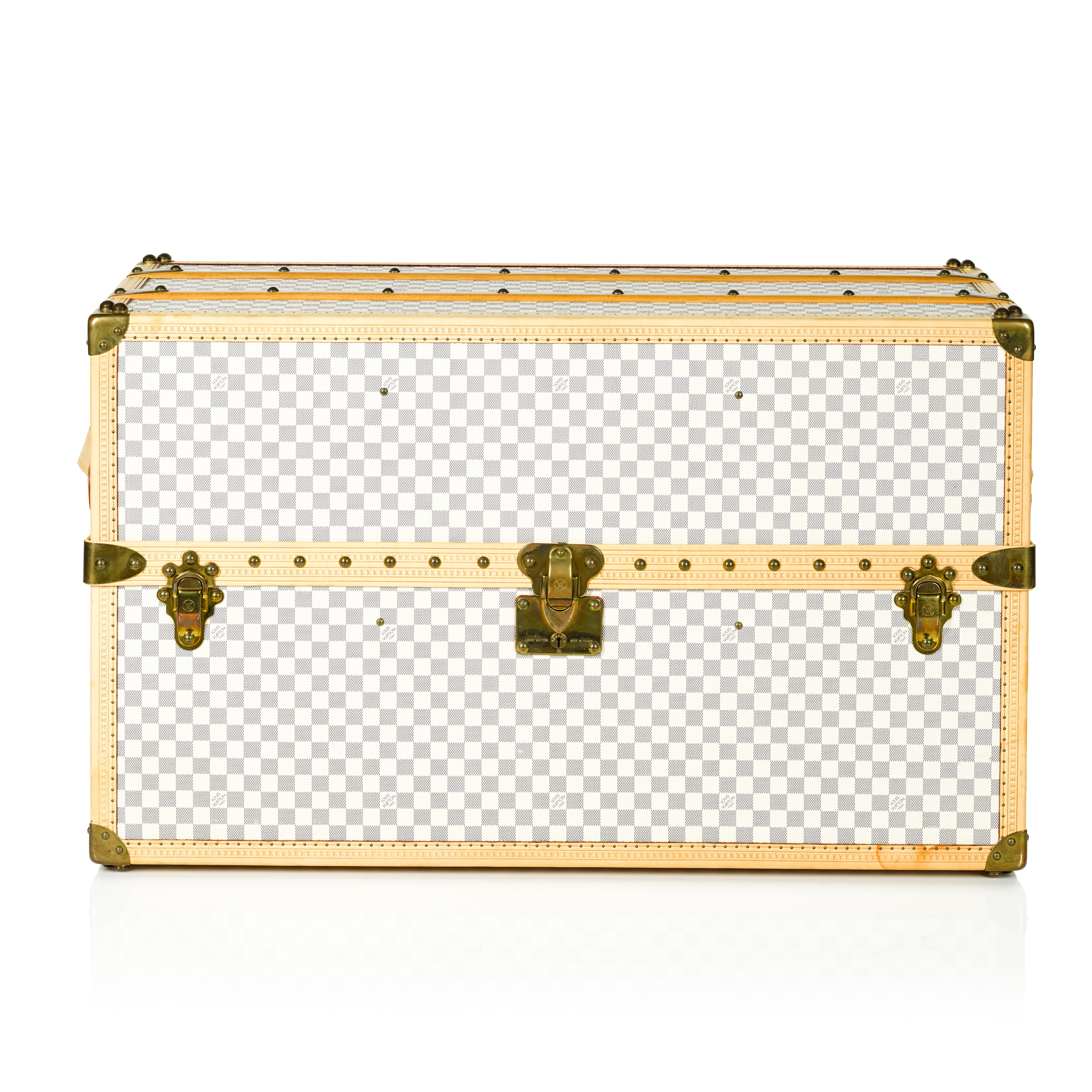 View full screen - View 1 of Lot 61. 'Malle Lit' Damier Azur Bed Trunk, 2007.