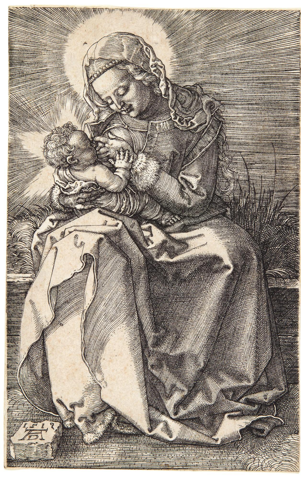 ALBRECHT DÜRER | THE VIRGIN NURSING THE CHILD (B. 36; M., HOLL. 39)