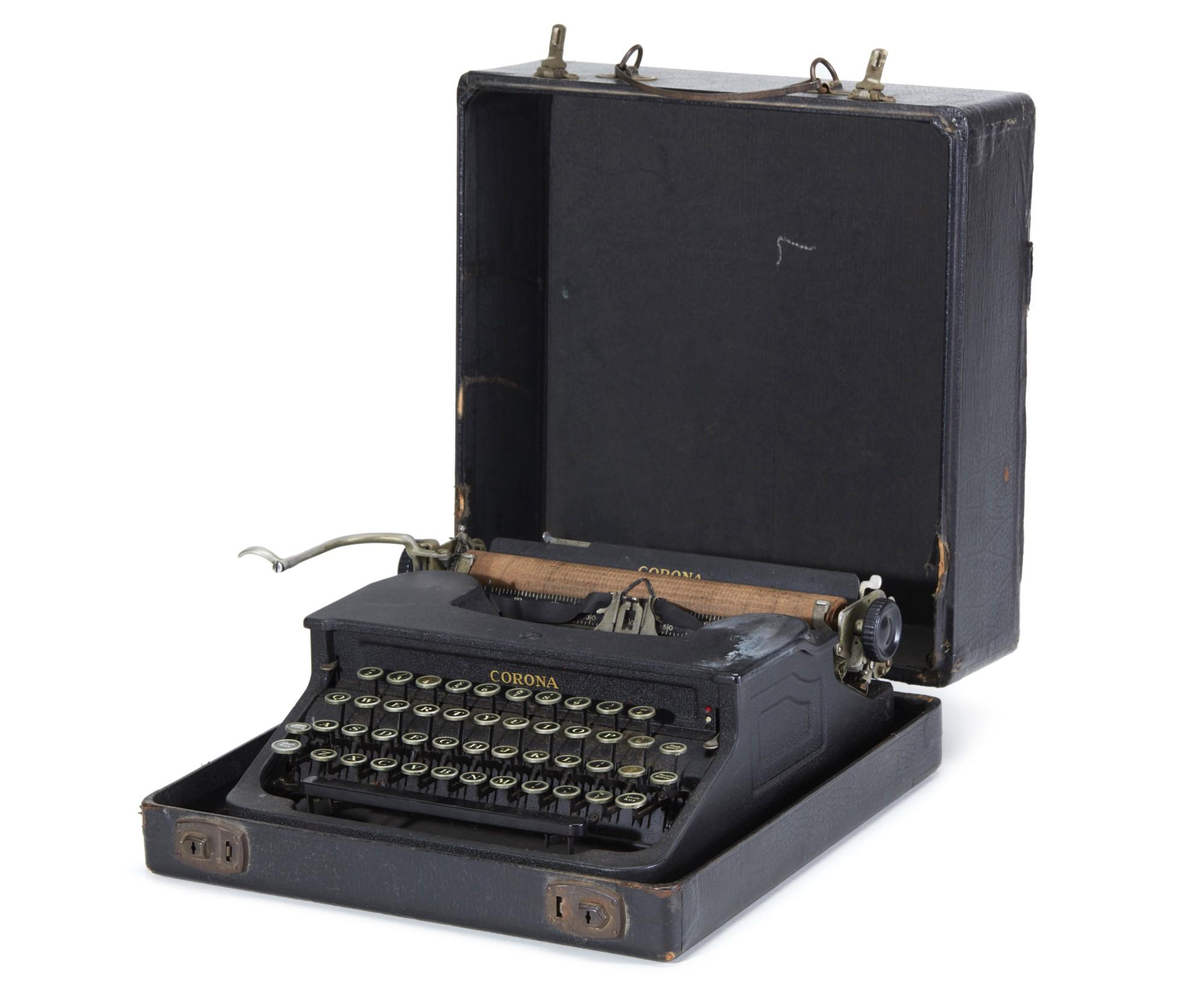 HIS TYPEWRITER, 1933/34