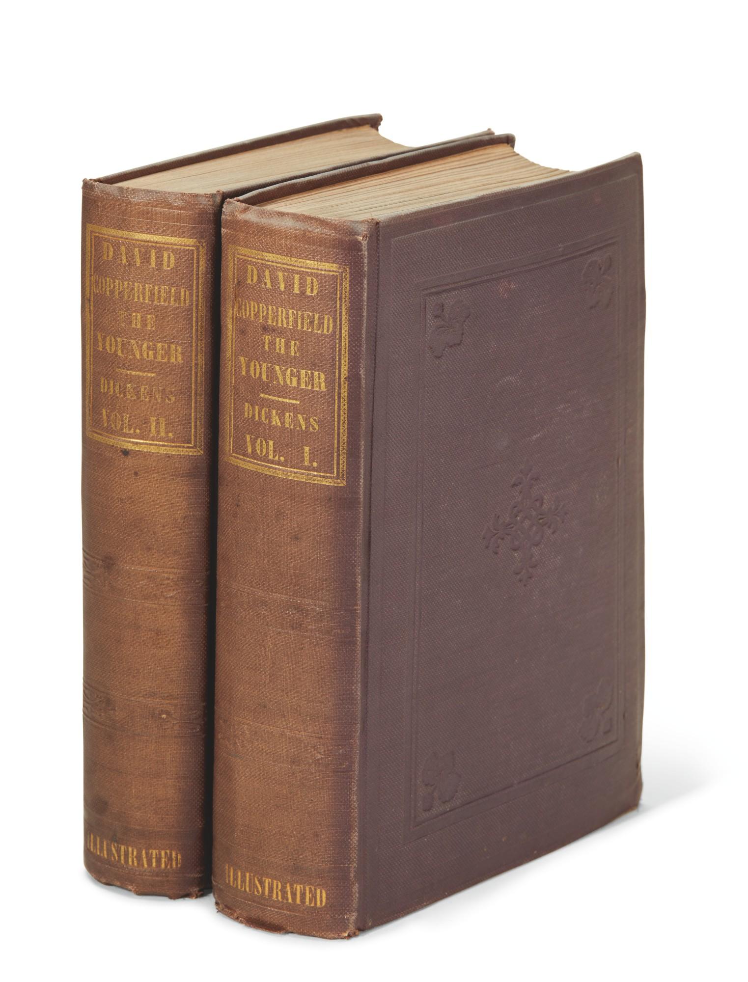 Dickens, David Copperfield, 1850, American edition