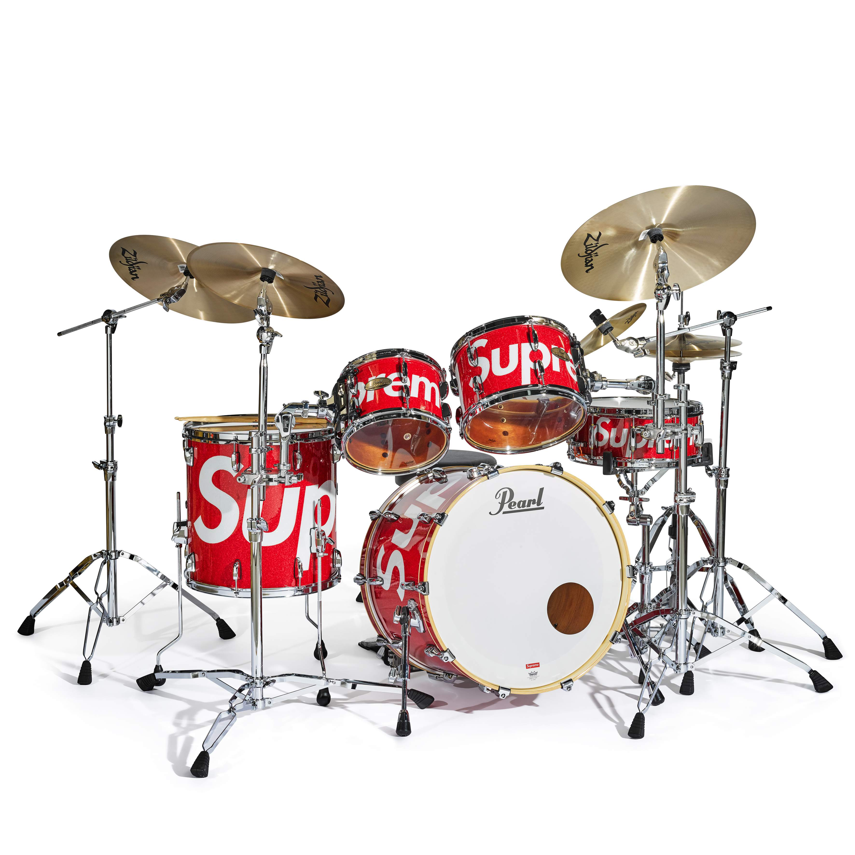 View full screen - View 1 of Lot 27. Session Studio Select Drum Set & Zildjian® Cymbals, 2019.
