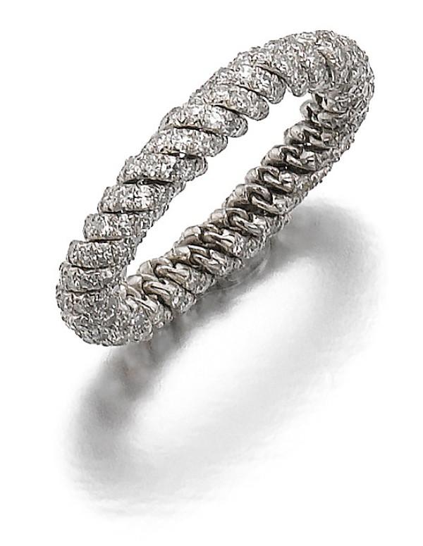 View full screen - View 1 of Lot 85. JAR | DIAMOND RING.