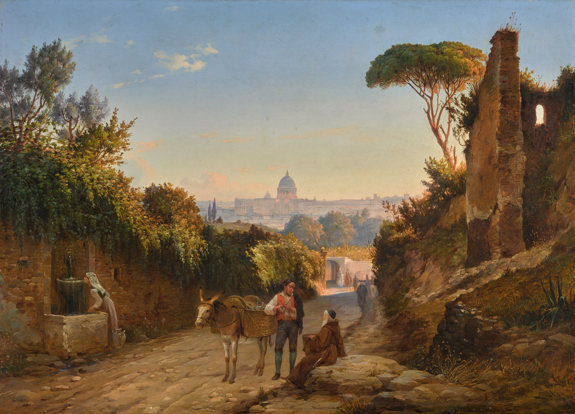 ANTON IVANOVICH IVANOV | ON THE OUTSKIRTS OF ROME