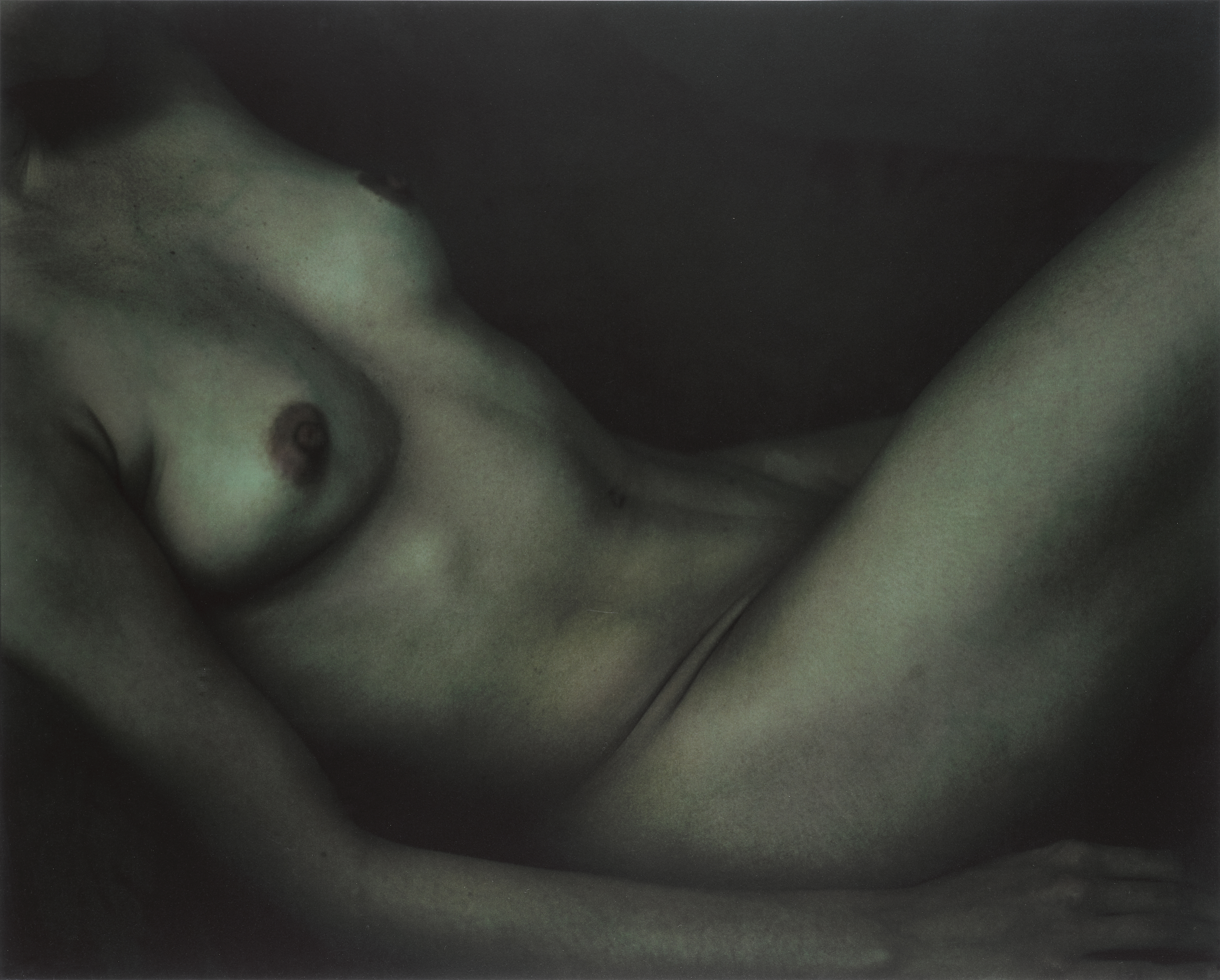 View full screen - View 1 of Lot 103. ANNIE LEIBOVITZ | 'JUNE OMURA, CLIFTON POINT', 1999.