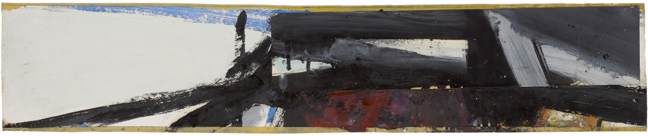 View 1 of Lot 206. FRANZ KLINE | STUDY FOR WASHINGTON WALL PAINTING.