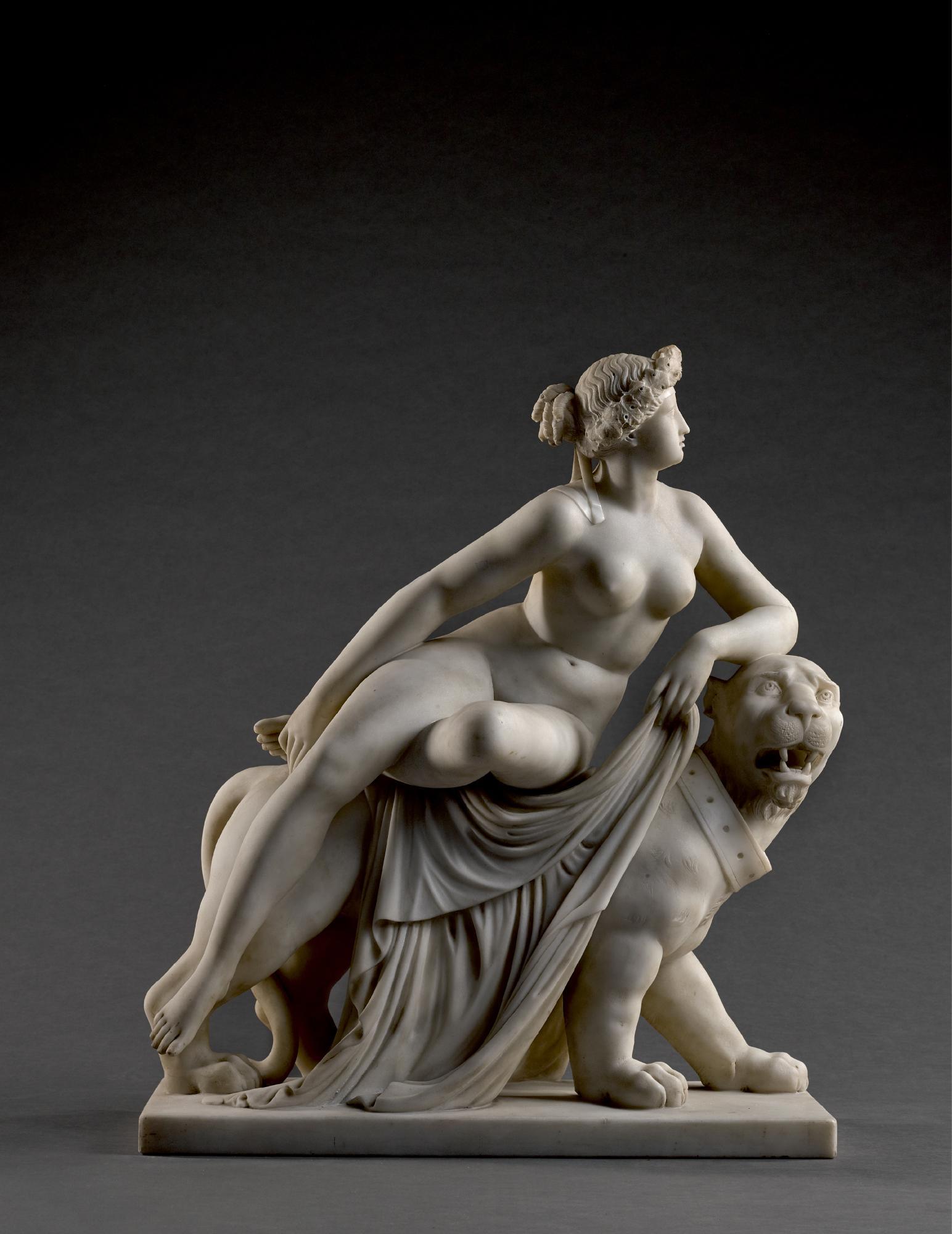AFTER JOHANN HEINRICH VON DANNECKER (1758-1841), ITALIAN, 19TH CENTURY |  ARIADNE ON THE PANTHER