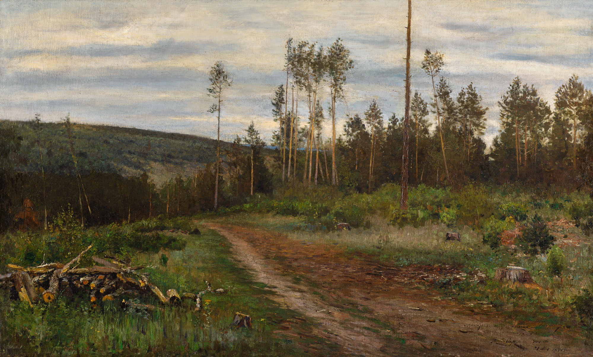 VASILI VASILIEVICH PEREPLETCHIKOV | A CLEARING IN THE WOODS