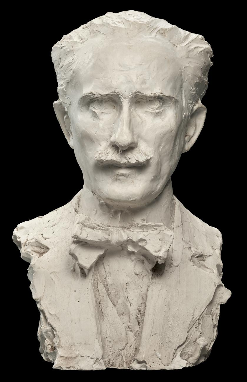 AFTER PRINCE PAUL TROUBETZKOY (1866-1938), AMERICAN, CIRCA 1920S-1940S | BUST OF ARTURO TOSCANINI (1867-1957)