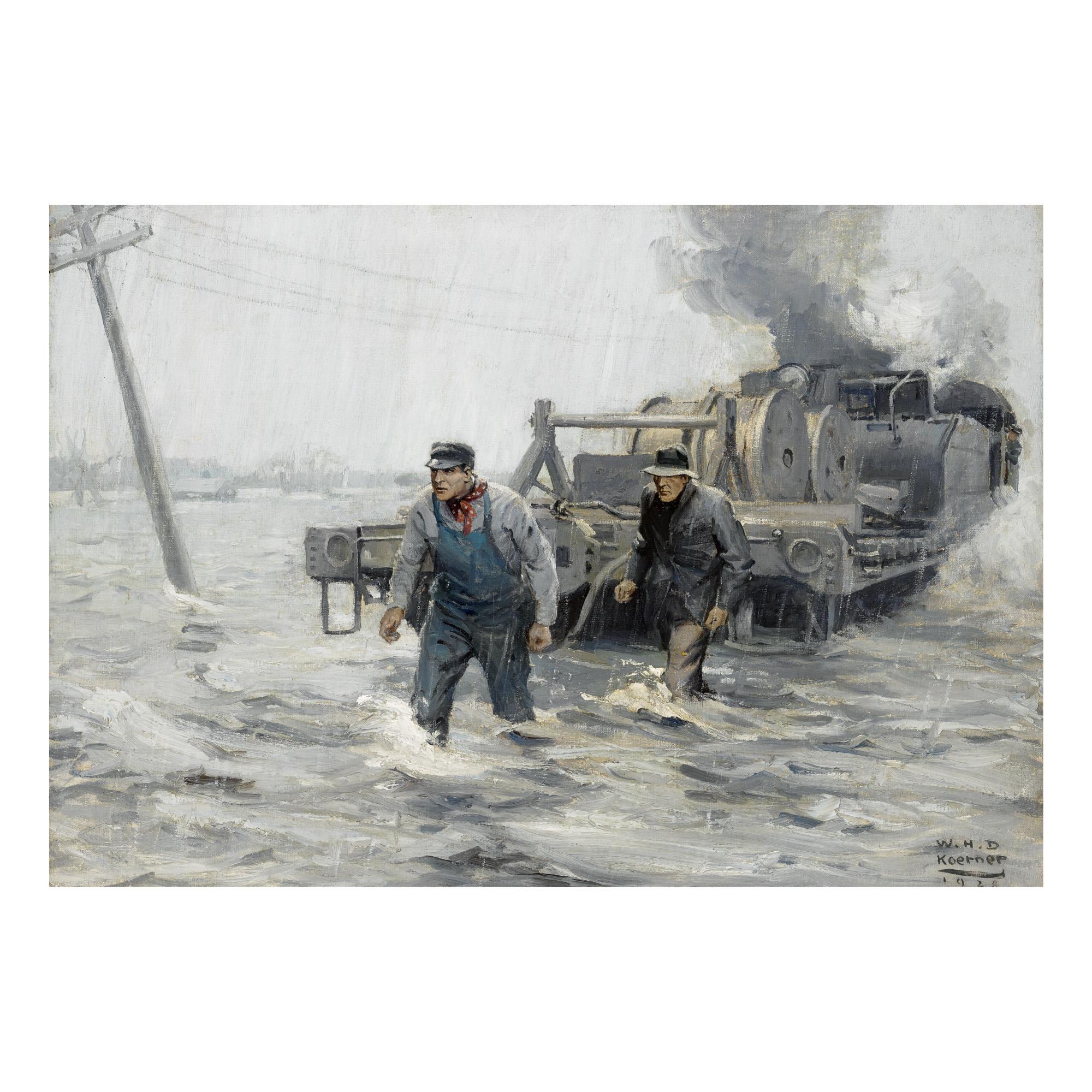 WILLIAM HENRY DETHLEF KOERNER | WIRES DOWN, TRACKS FLOODED (THE RESCUE)