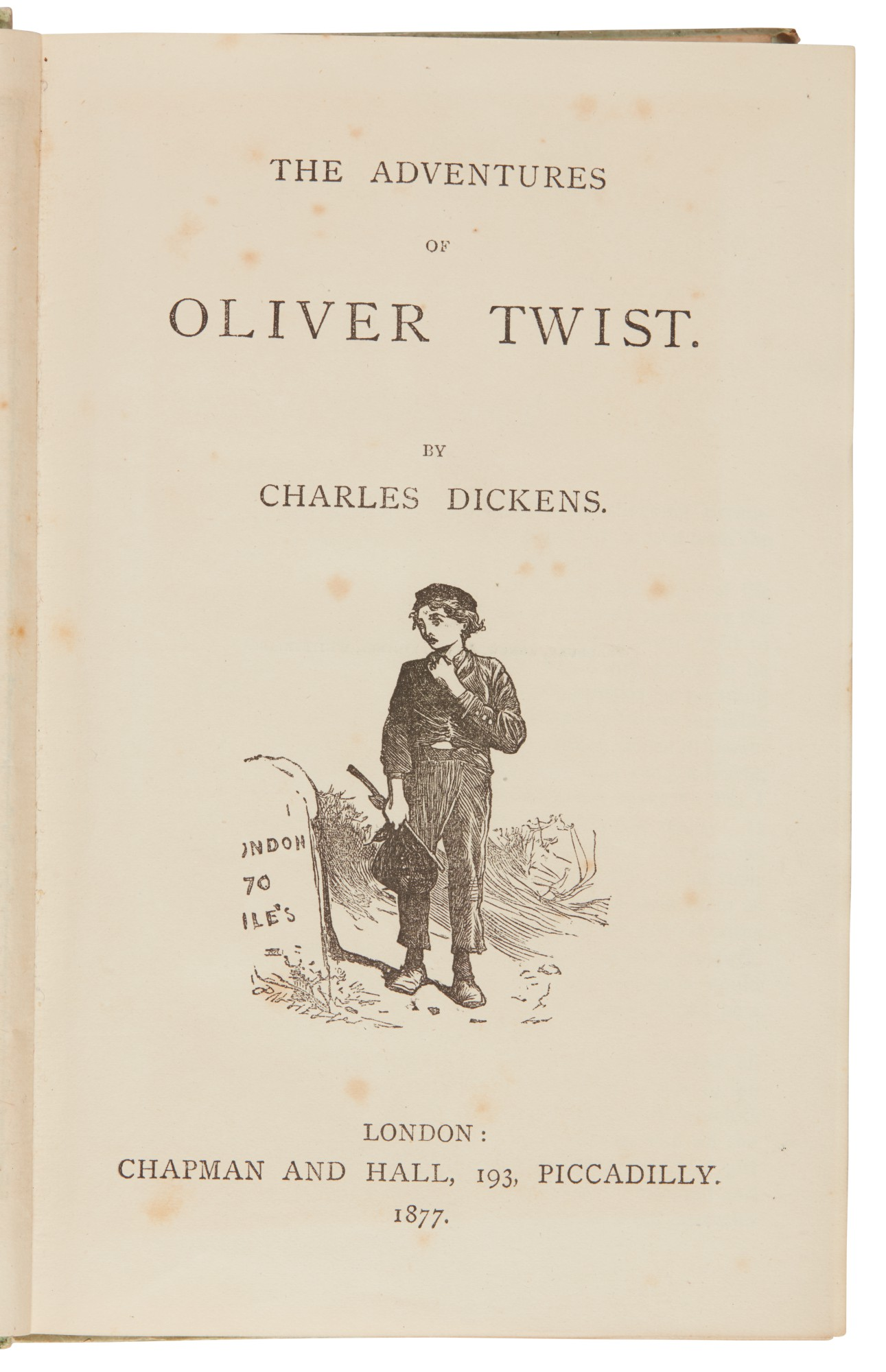 Dickens, Oliver Twist, 1877