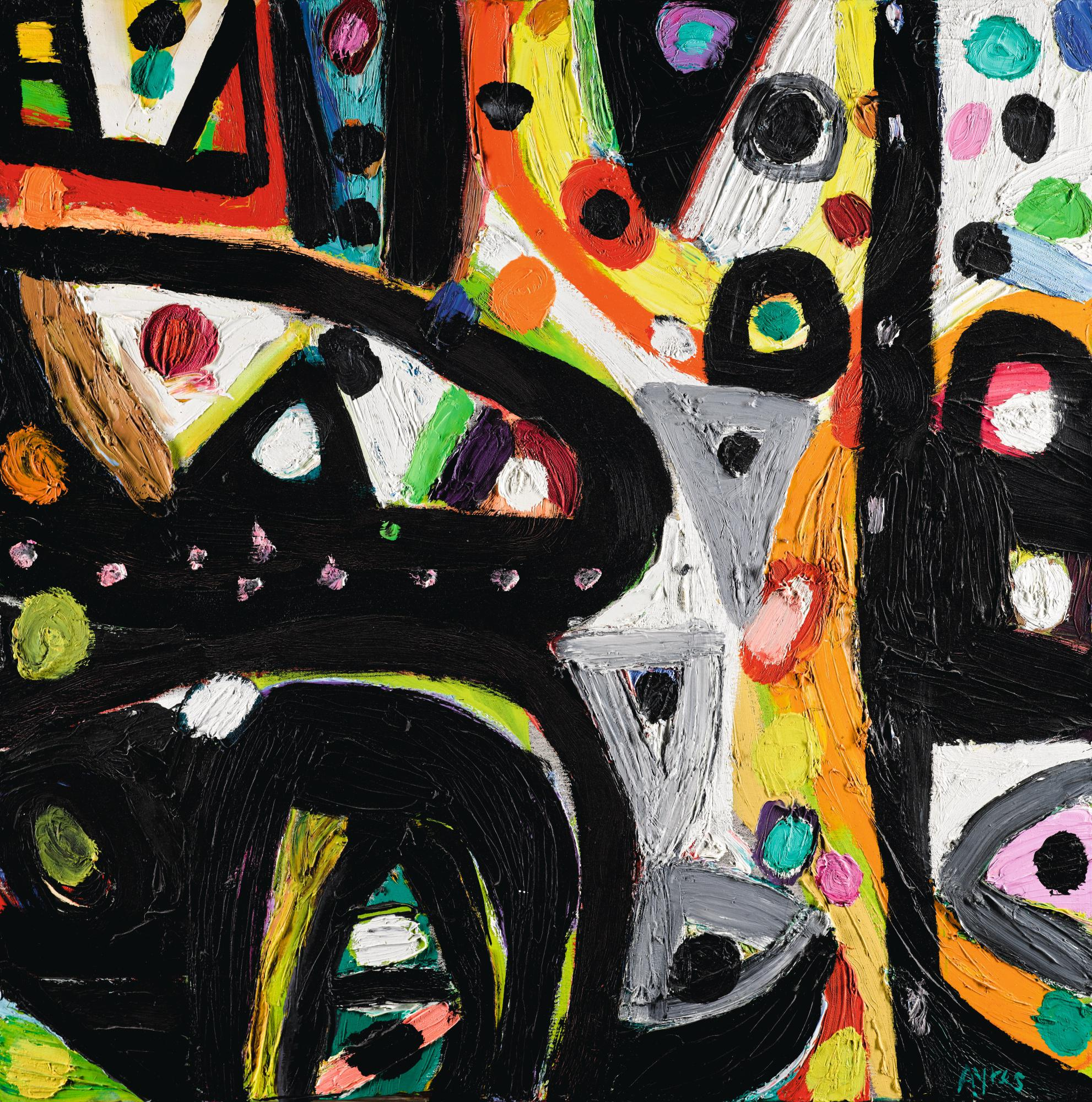 GILLIAN AYRES, R.A.   REMEMBER THIS