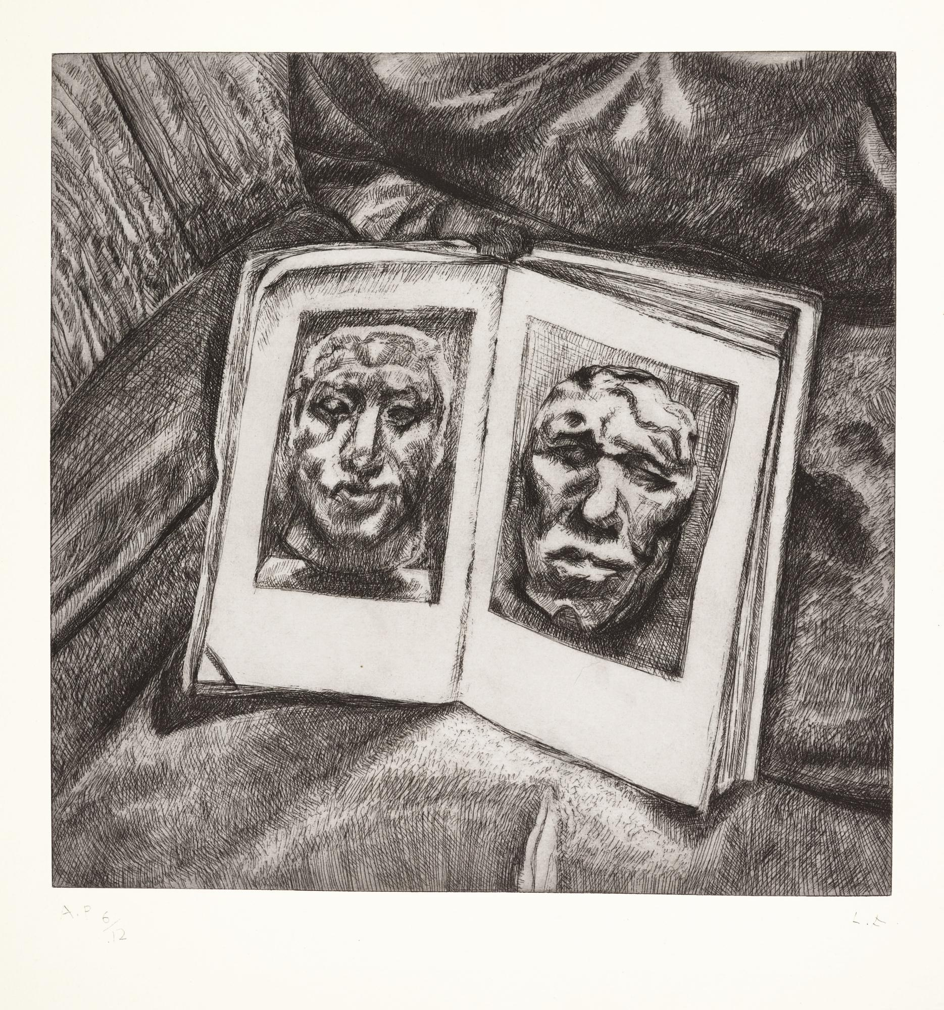 LUCIAN FREUD | EGYPTIAN BOOK (H. 49)