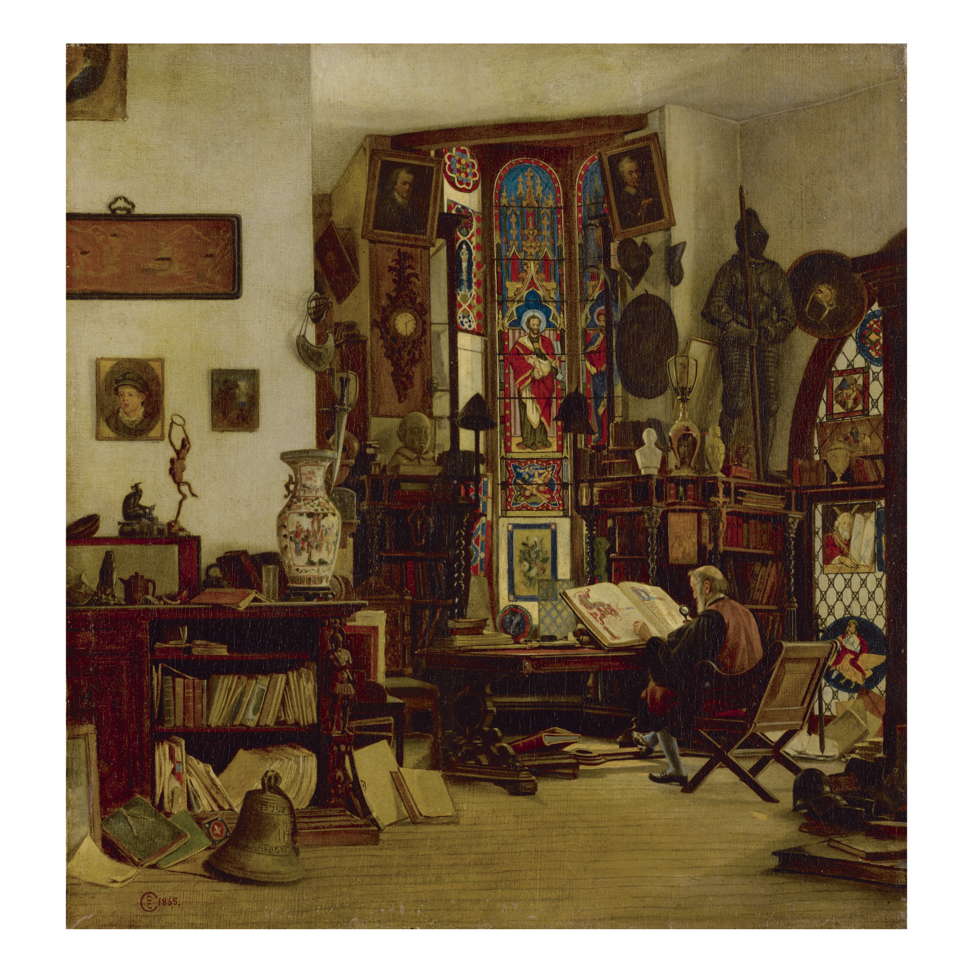 CHARLES CARYL COLEMAN   THE ANTIQUARY