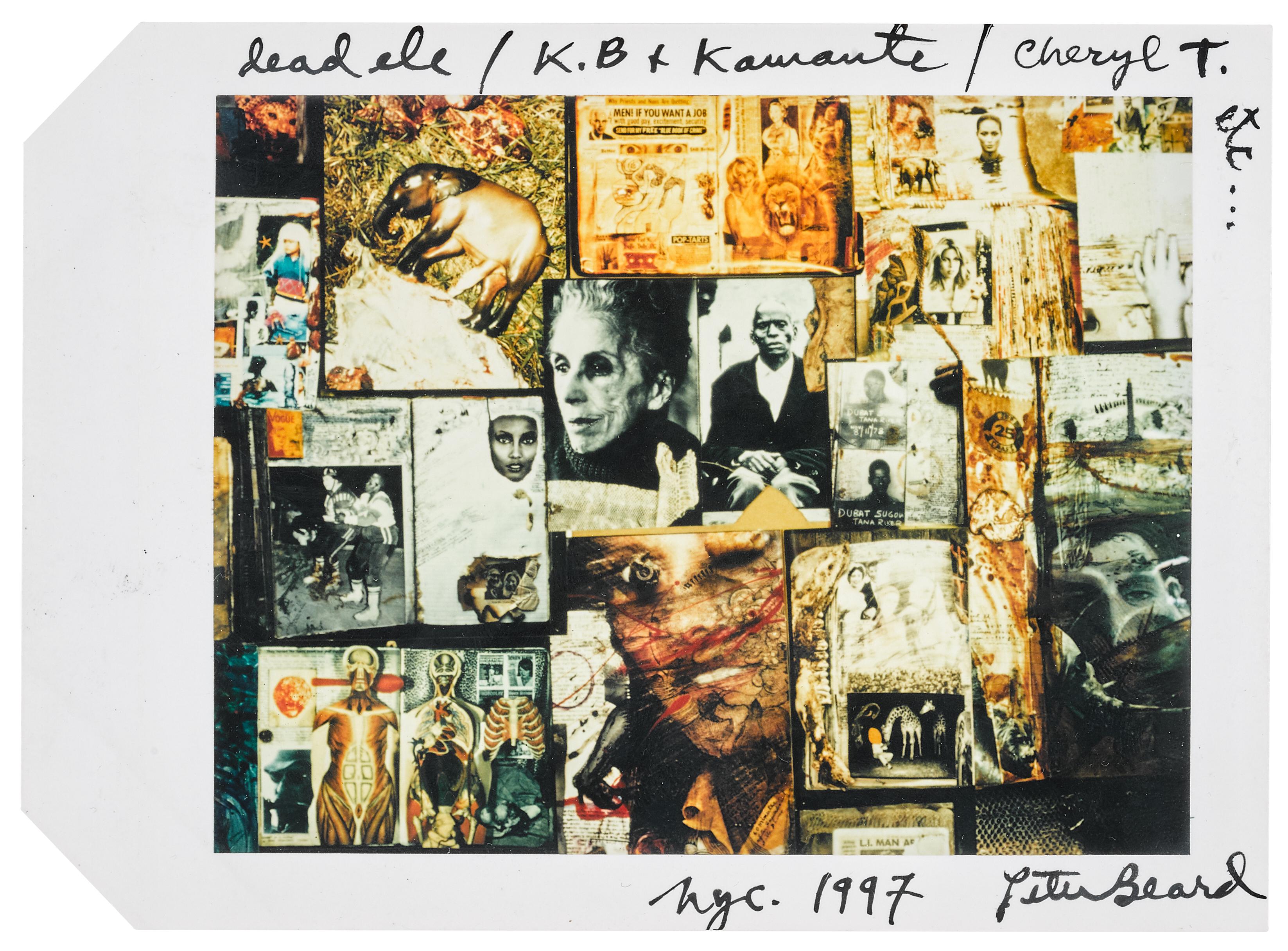 View full screen - View 1 of Lot 131. PETER BEARD | 'DEAD ELE / K.B. + KAMANTE/ CHERYL T. ETC', 1997.