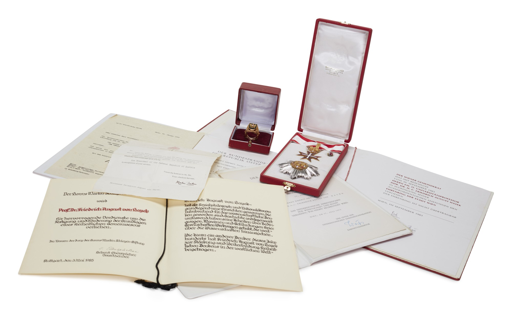 AUSTRIAN CIVIL AWARDS AND DECORATIONS, 1974-1990