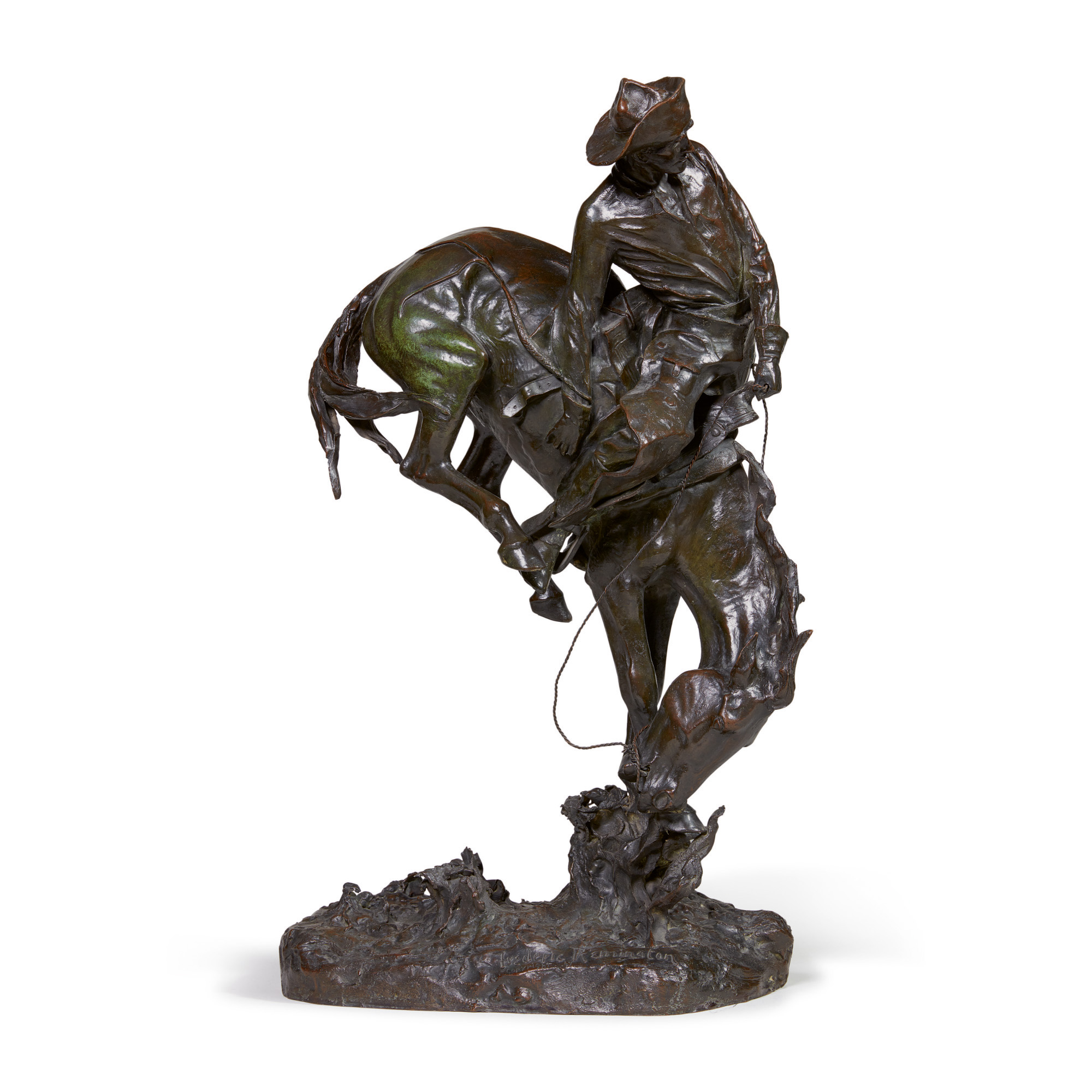FREDERIC REMINGTON   THE OUTLAW