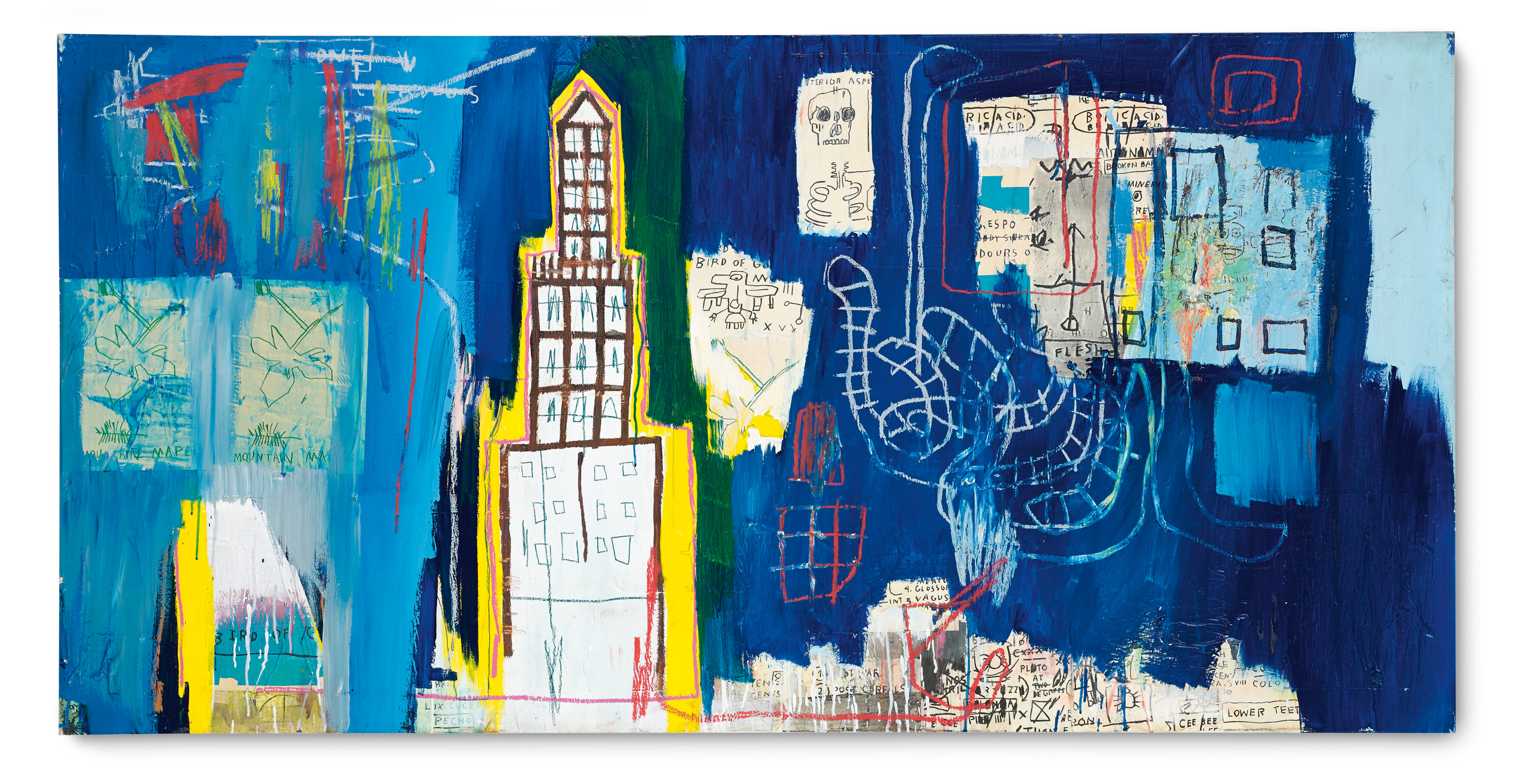 View full screen - View 1 of Lot 105.  JEAN-MICHEL BASQUIAT  |  JUSTCOME SUIT.