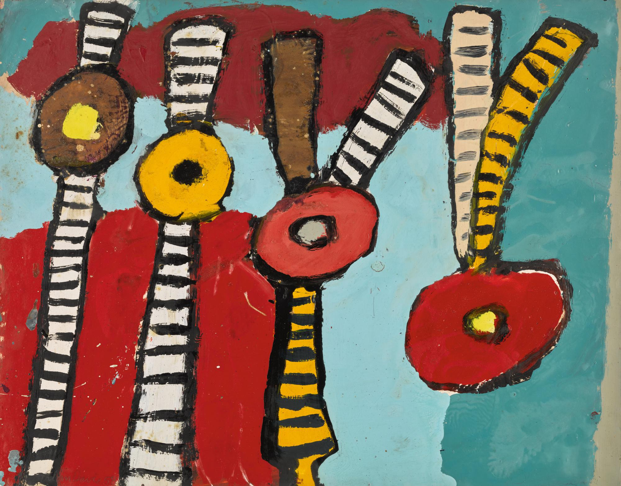 ALAN DAVIE | FLOWERS FOR THE COOL AIR