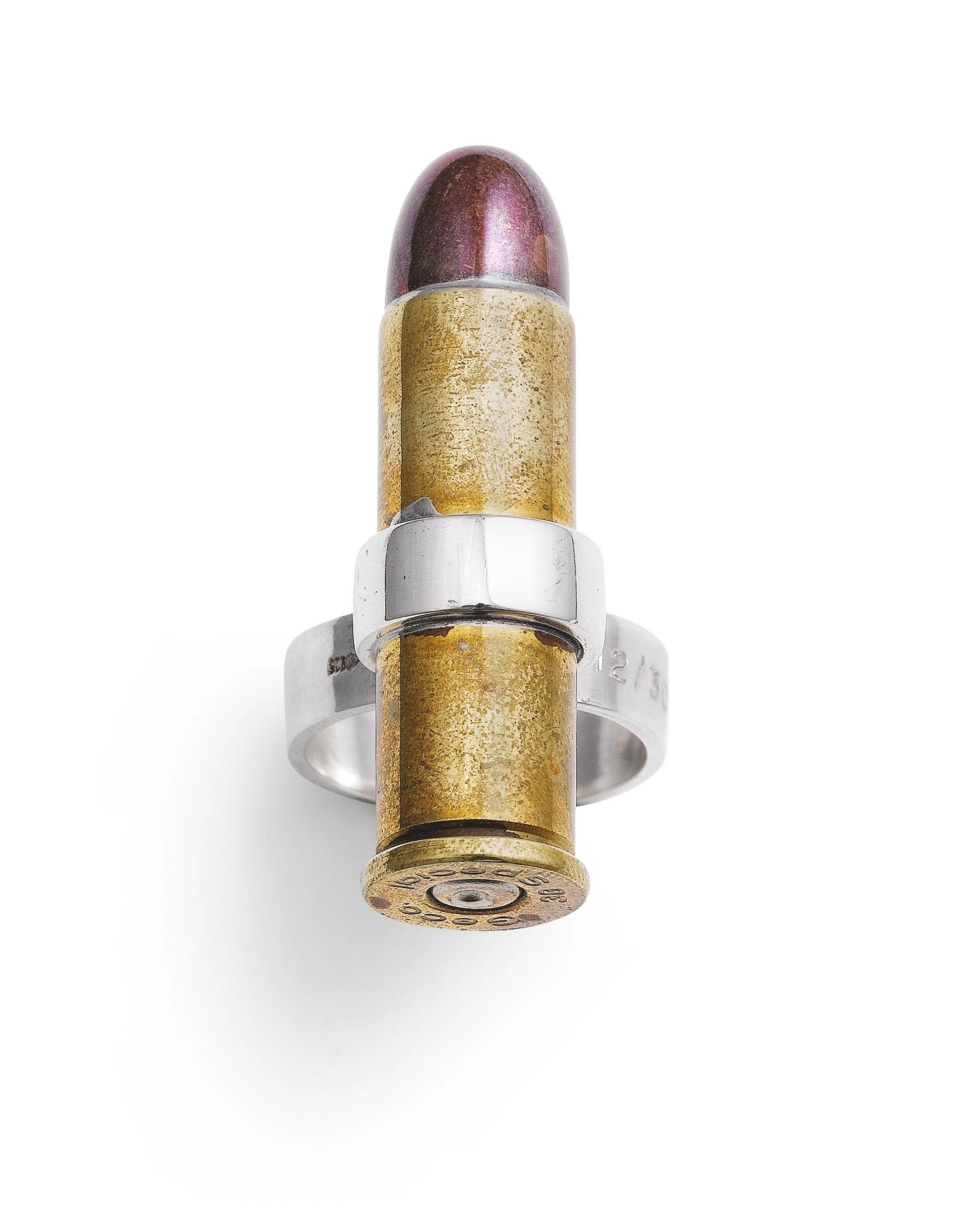 Jacques Monory, Ring, [Bague] 'Balle de Revolver', 2009