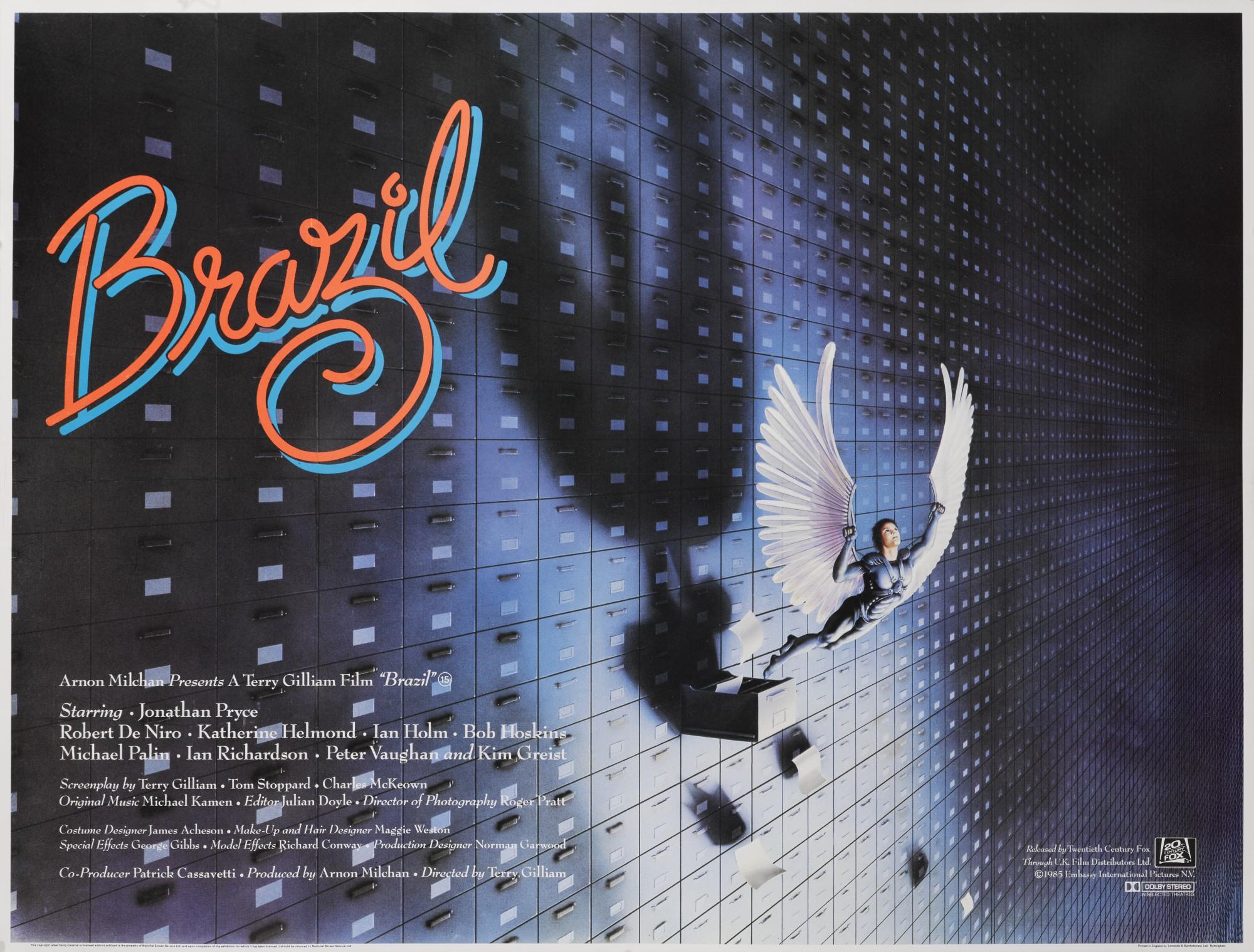 BRAZIL (1985) POSTER, BRITISH