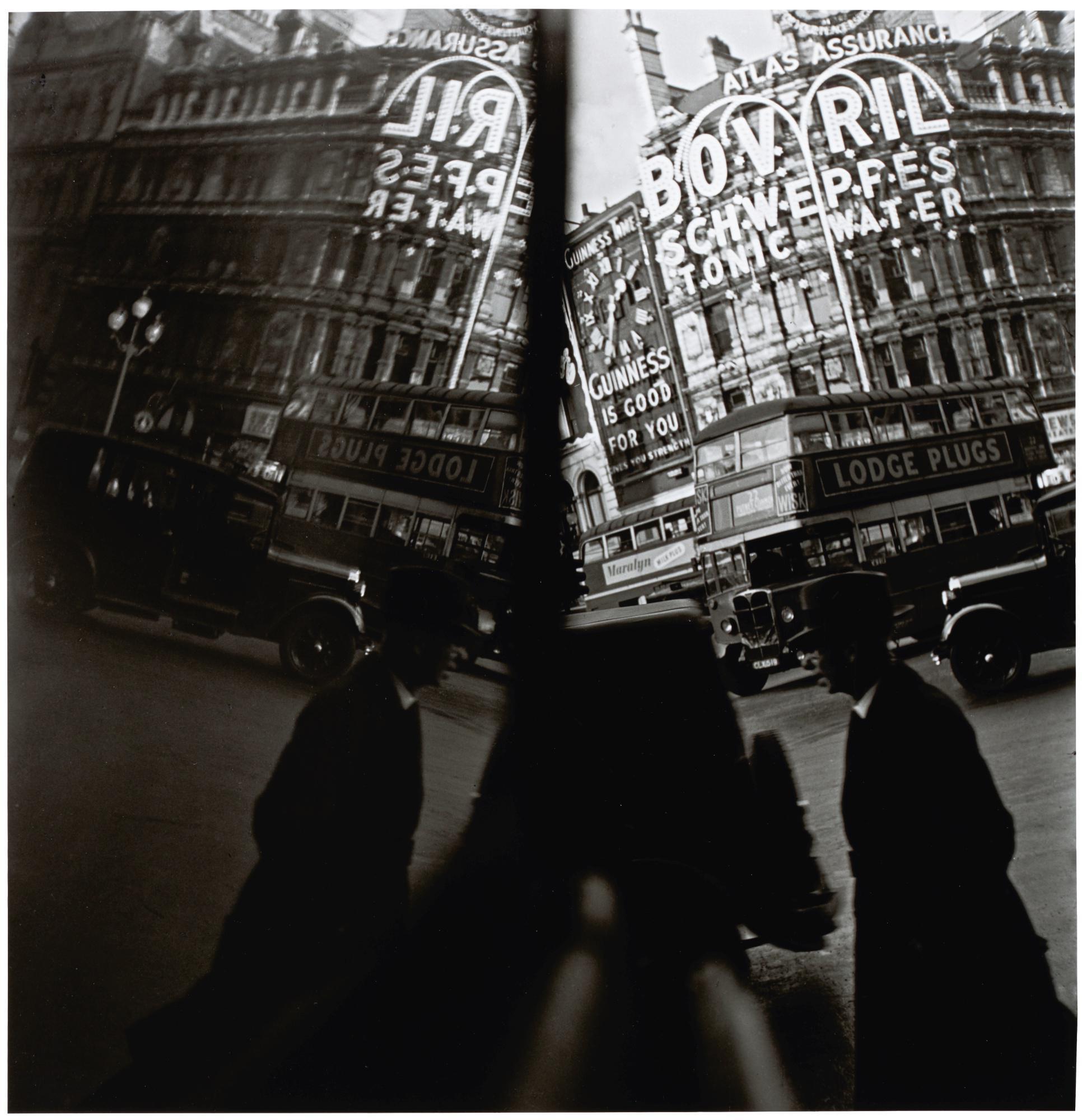 ERNST HAAS | LONDON REFLECTION, 1949