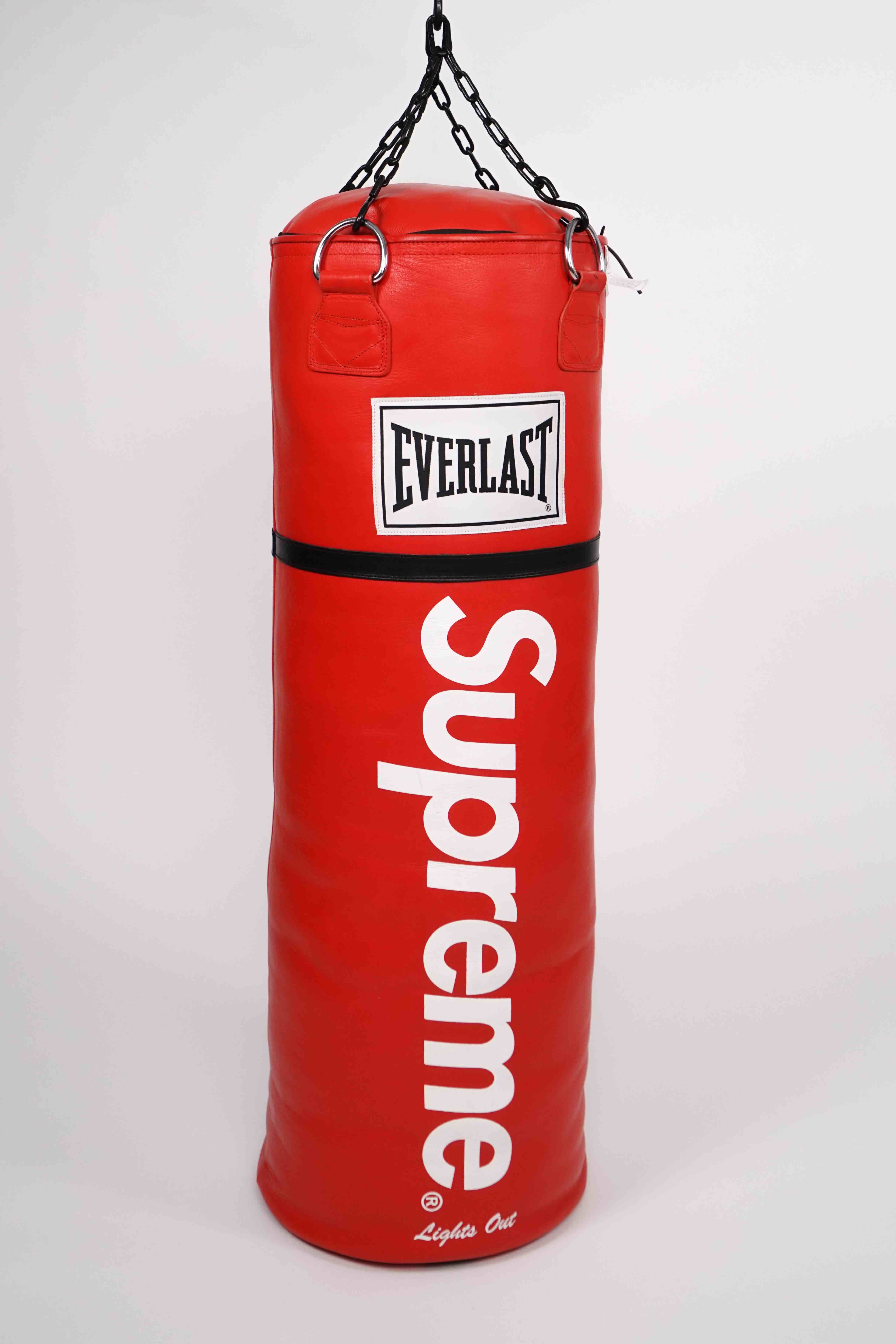 View full screen - View 1 of Lot 2. SUPREME EVERLAST PUNCHING BAG.
