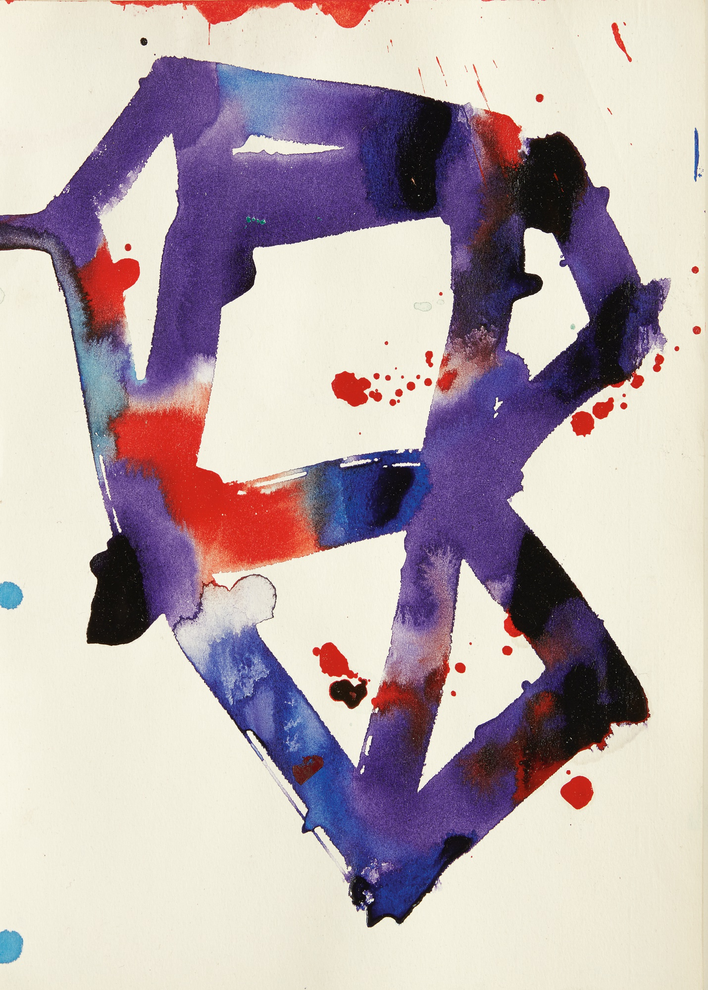 SAM FRANCIS | UNTITLED