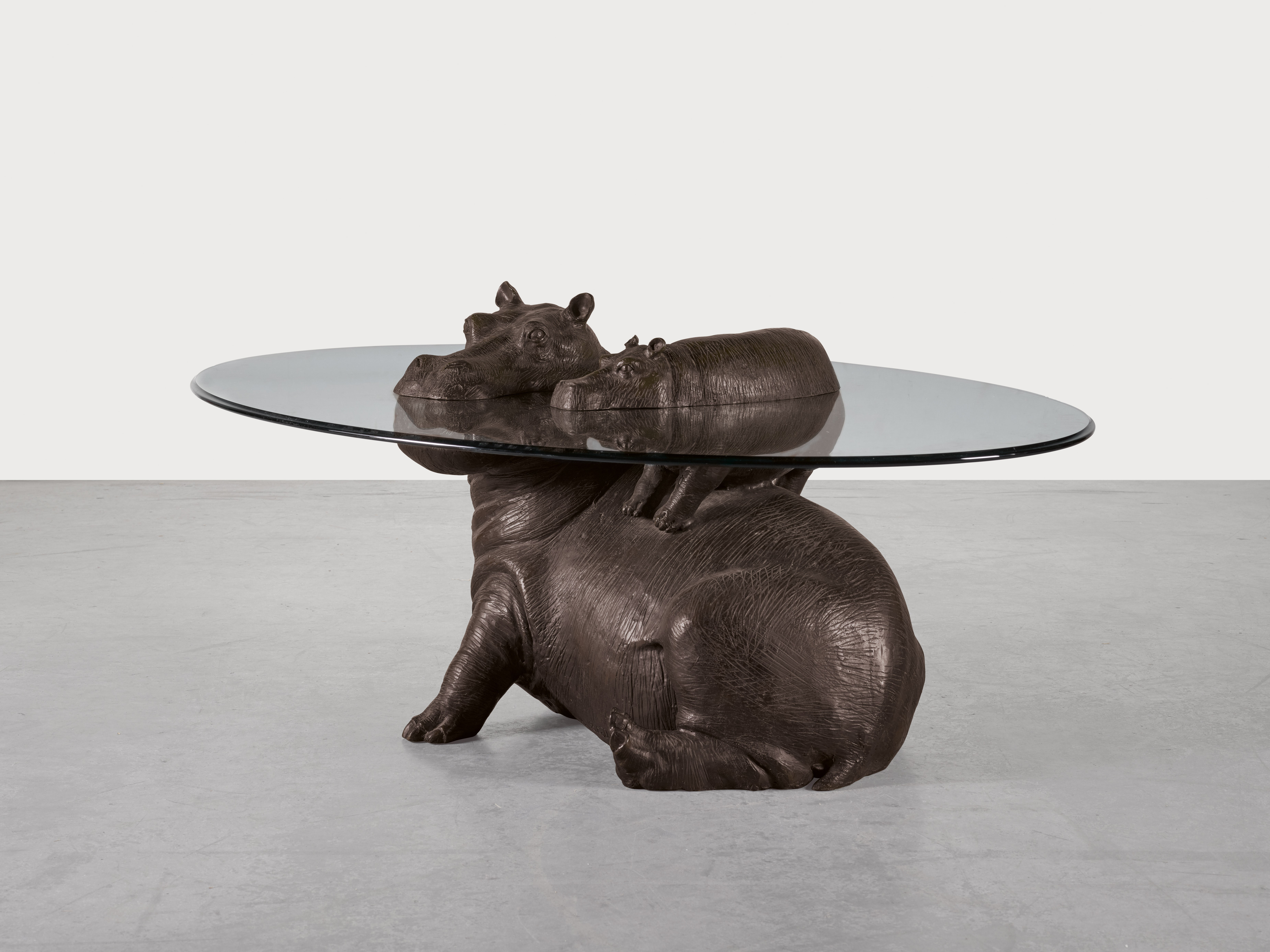 MARK STODDART | HIPPO & BABY COFFEE TABLE  2001