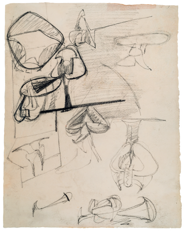 View full screen - View 1 of Lot 14. ARSHILE GORKY   UNTITLED.