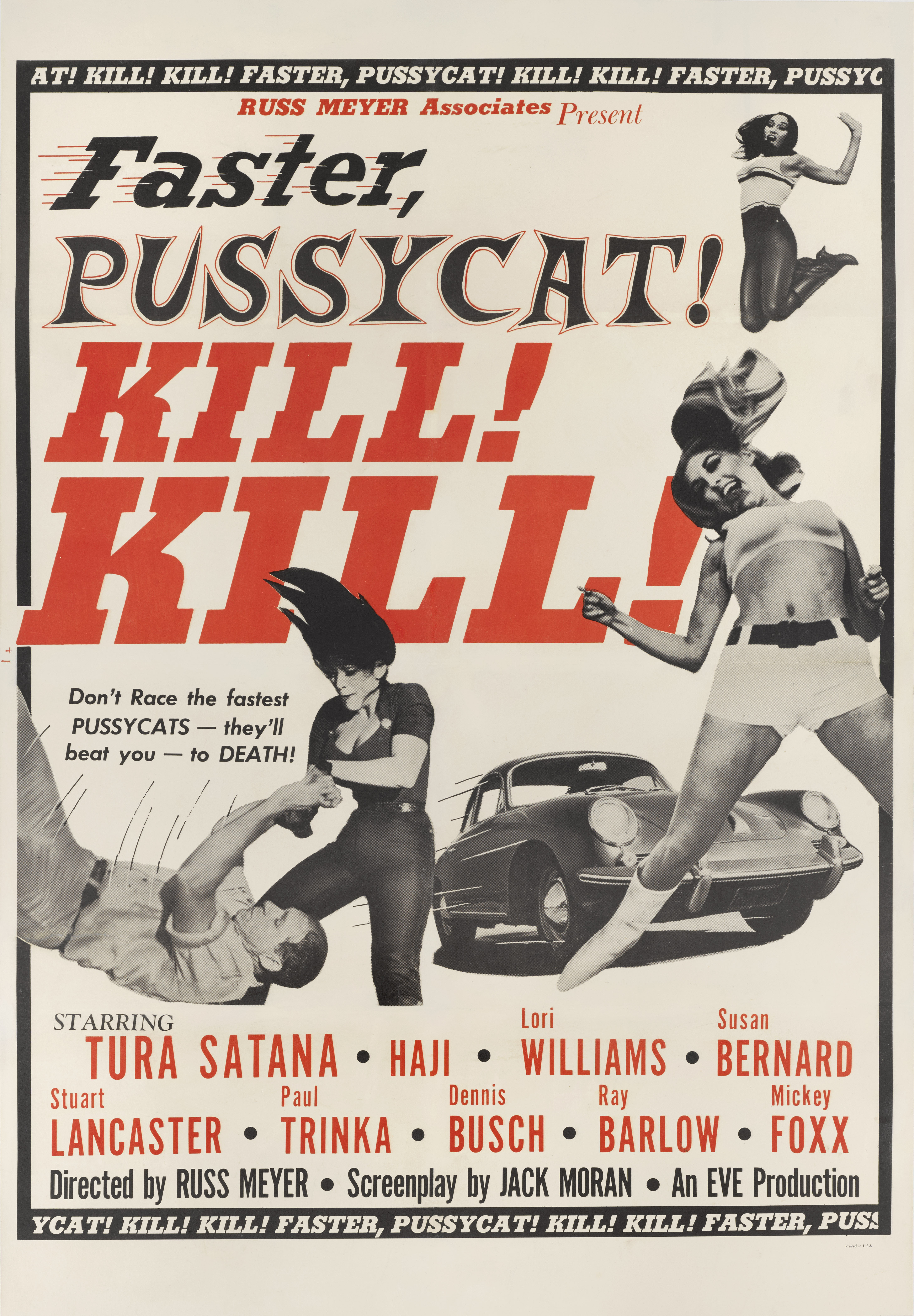 View full screen - View 1 of Lot 179. Faster, Pussycat! Kill! Kill! (1966) Poster, US.