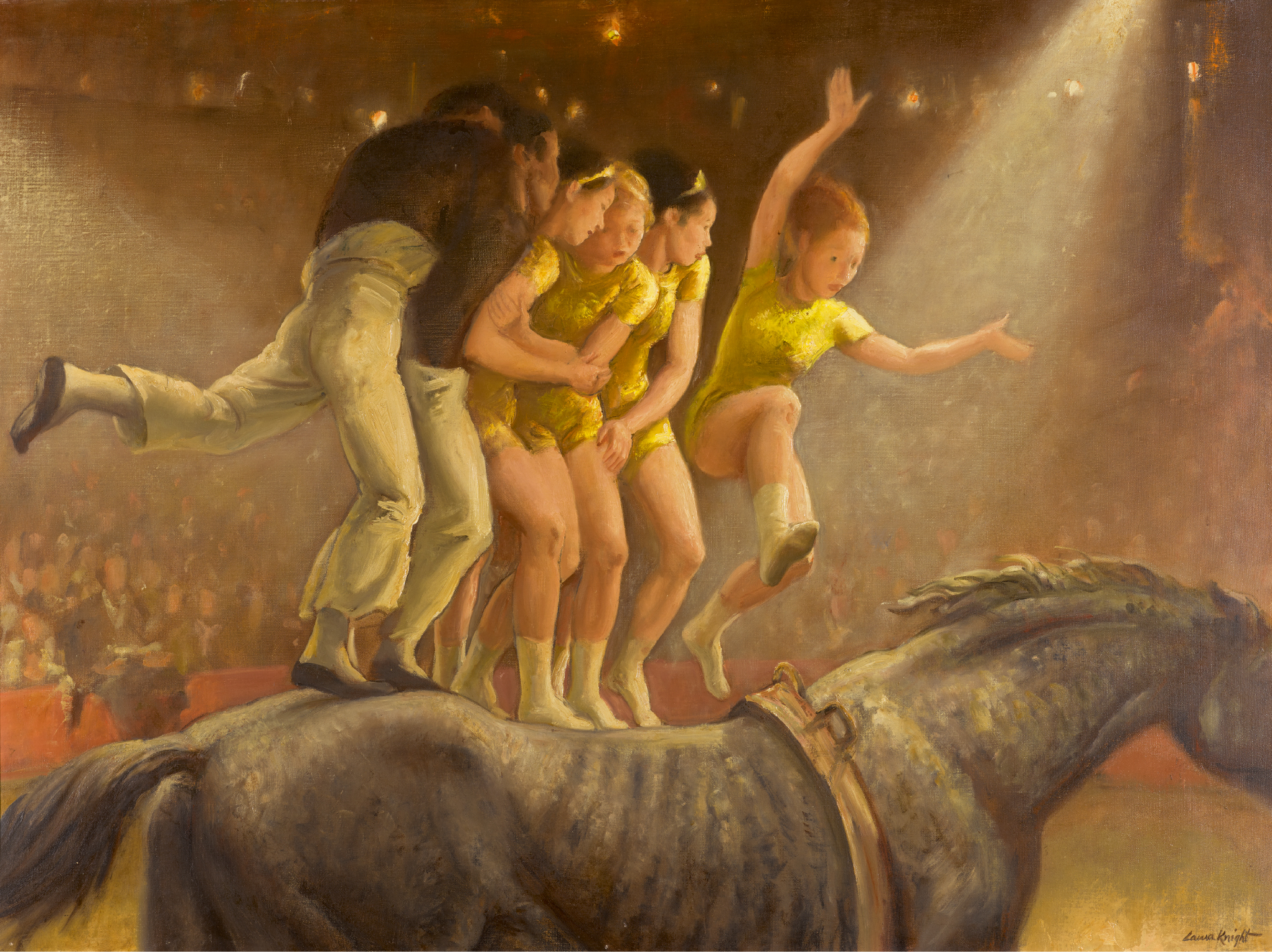 DAME LAURA KNIGHT, R.A., R.W.S. | Allez Oop!