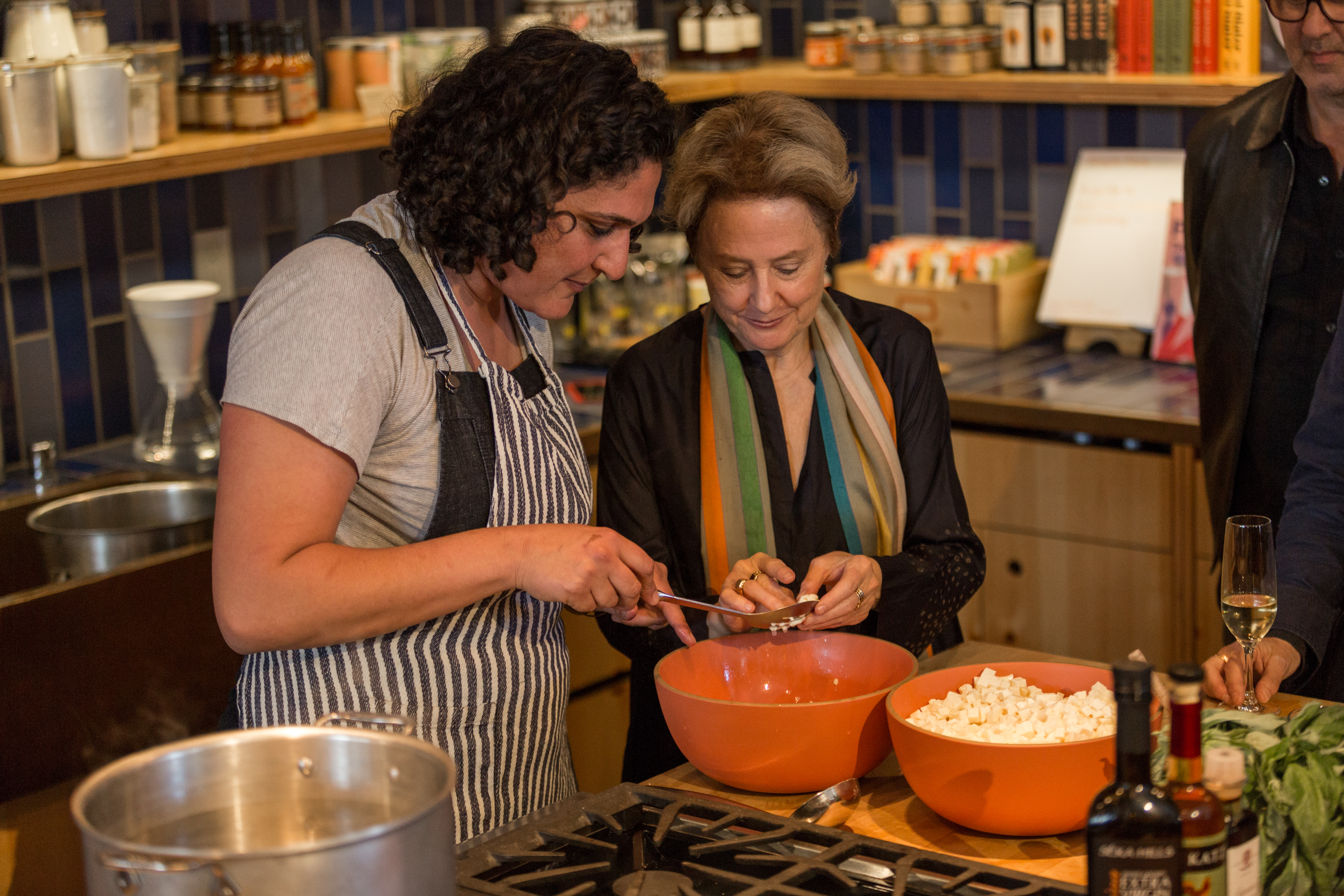 Cooking Lesson & Lunch with Alice Waters & Samin Nosrat