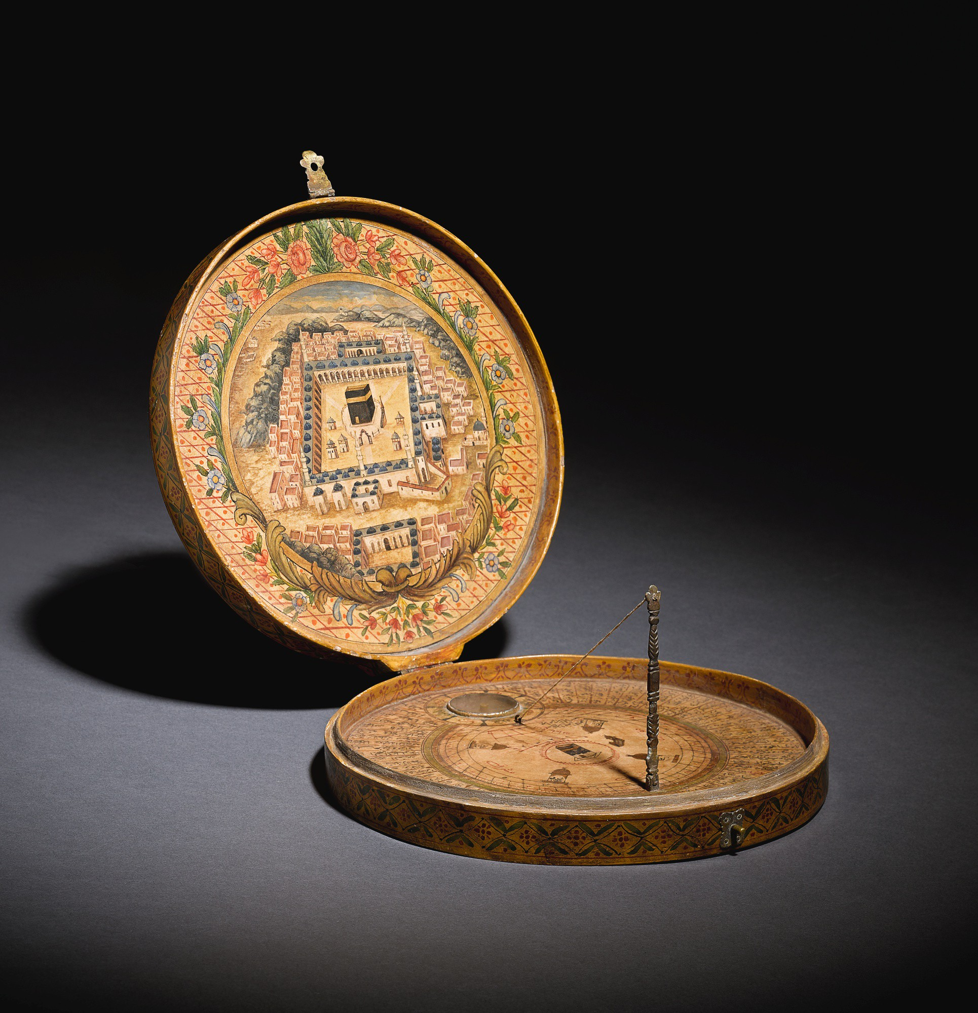 AN OTTOMAN QIBLA INDICATOR, TURKEY, 19TH CENTURY