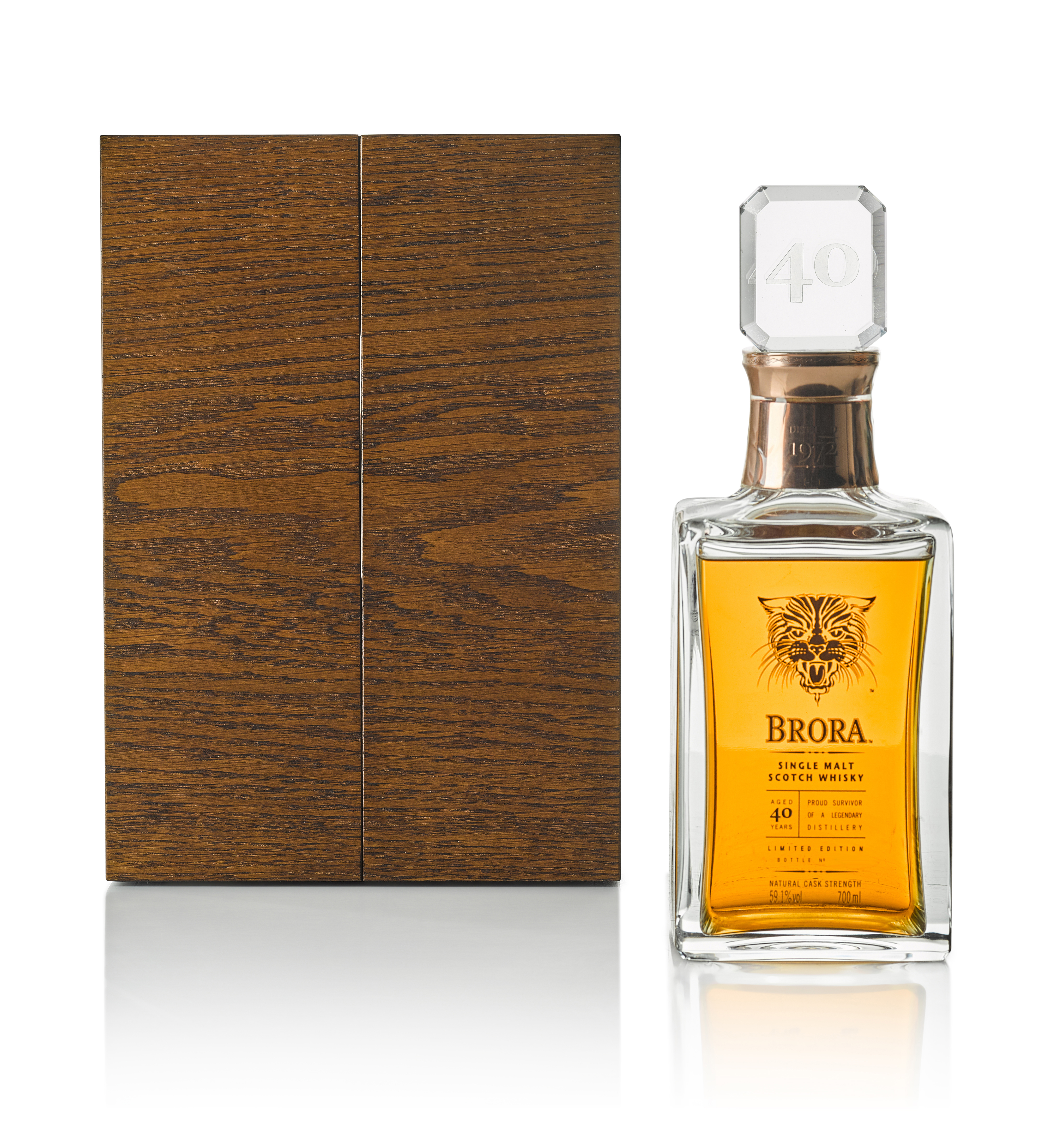 View full screen - View 1 of Lot 88. Brora Limited Edition 40 Year Old 59.1 abv 1972 (1 BT75).