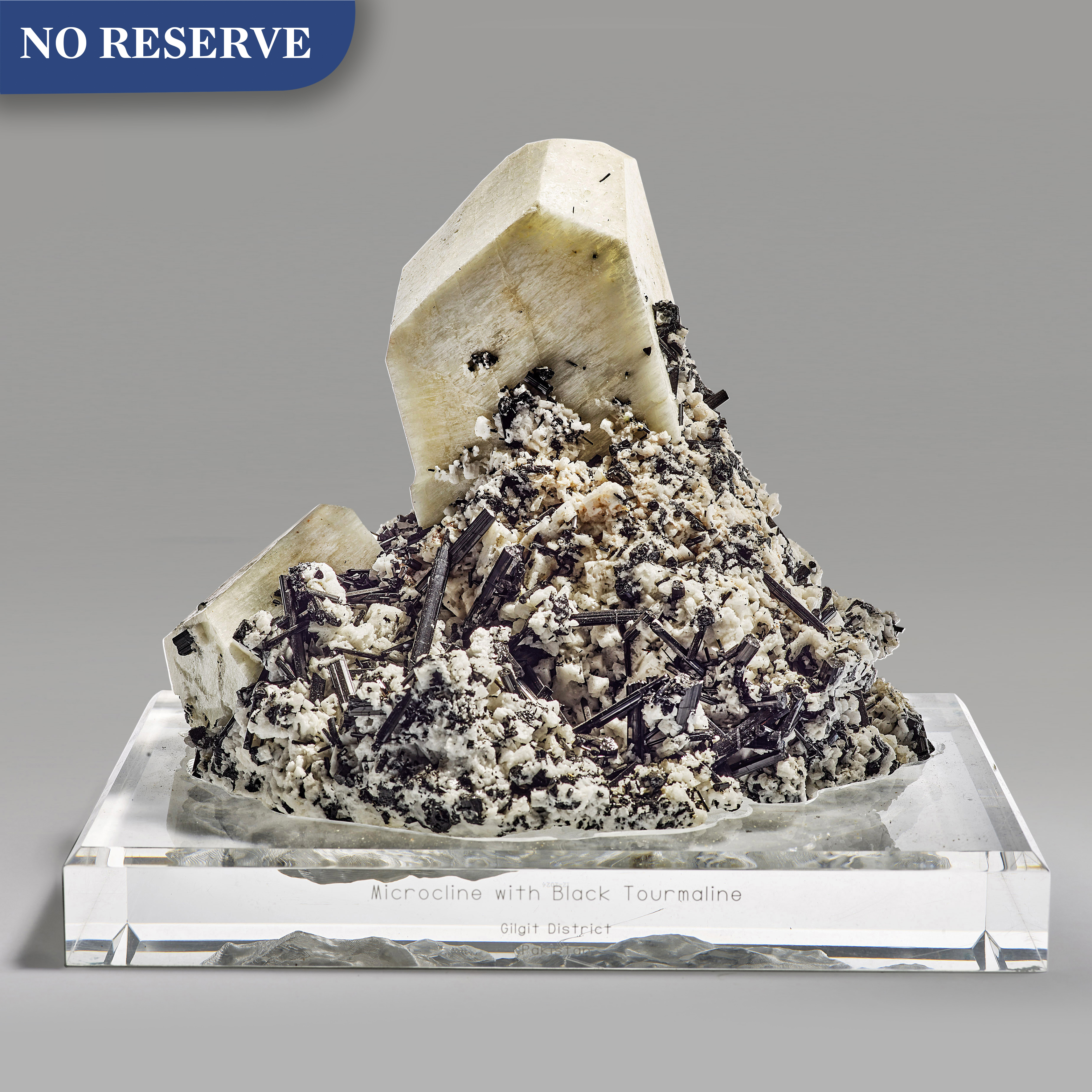 View full screen - View 1 of Lot 269. Microcline with Schorl.
