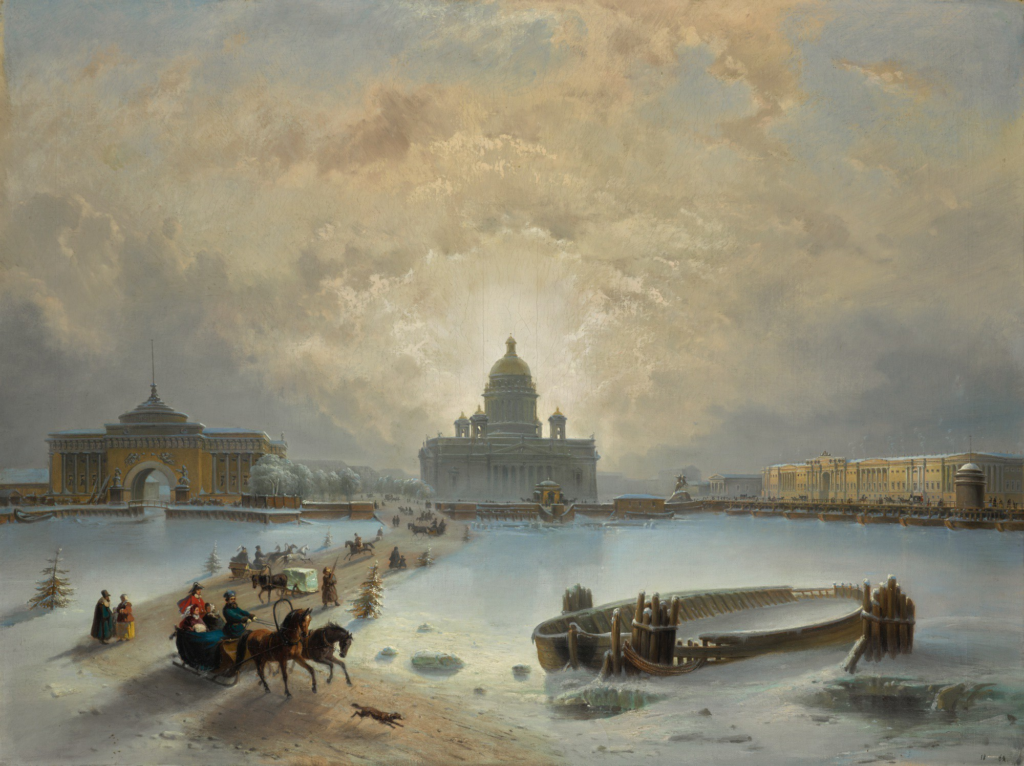 JOSEPH ANDREAS WEISS | ICE ROAD ACROSS THE NEVA