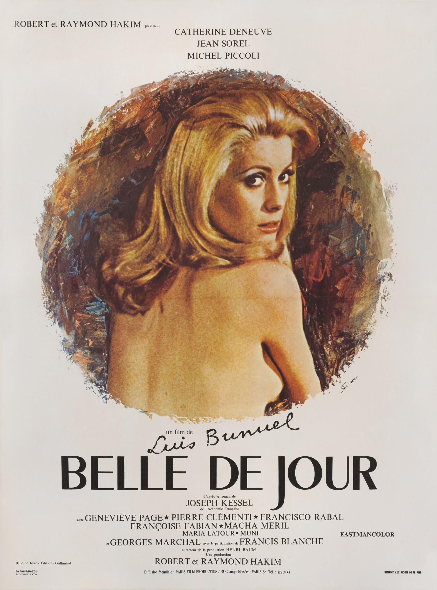 Belle De Jour 1967 Poster French Original Film Posters
