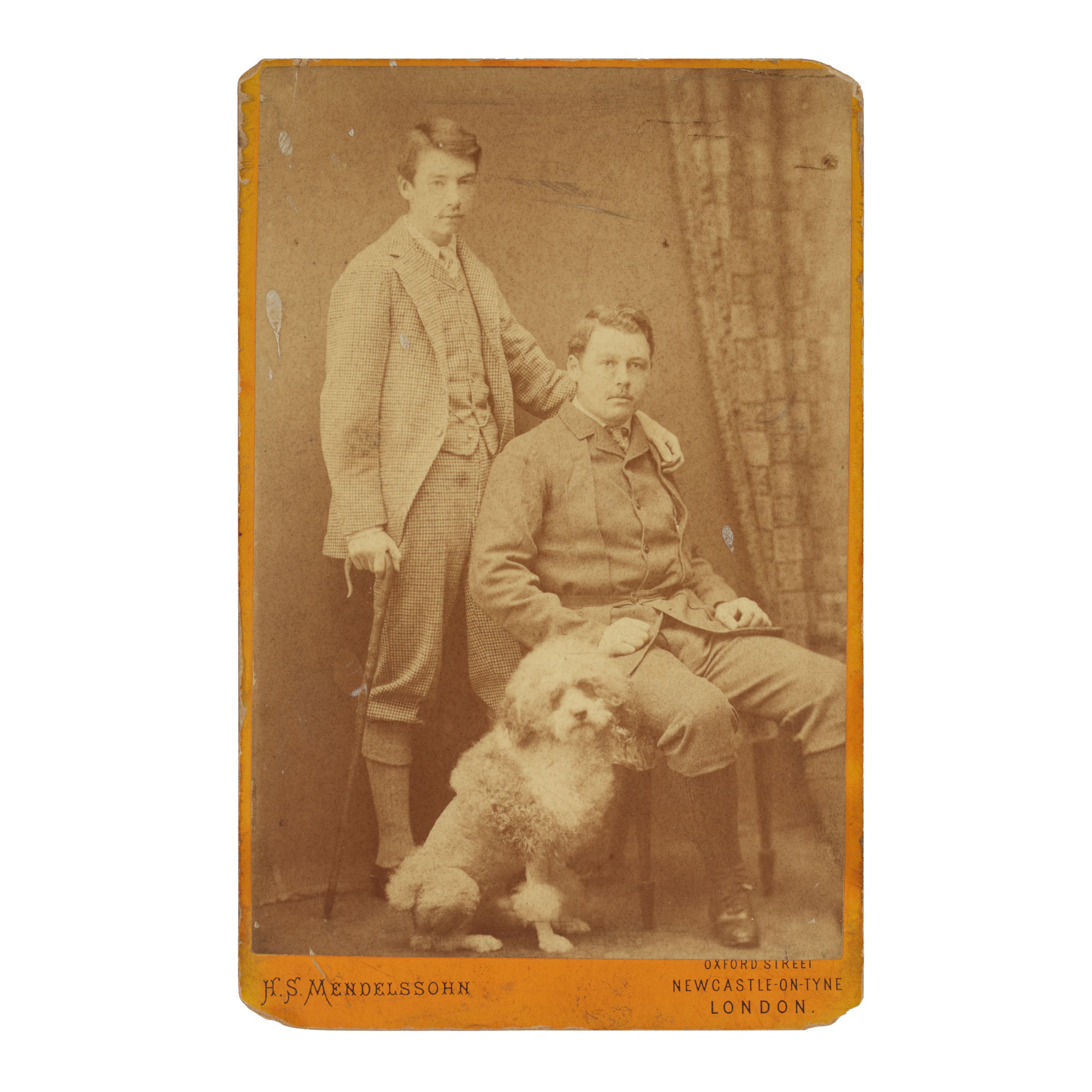 W. GRAHAM ROBERTSON   W. GRAHAM ROBERTSON, WALTER HILEY, AND THEIR DOG MOUTON