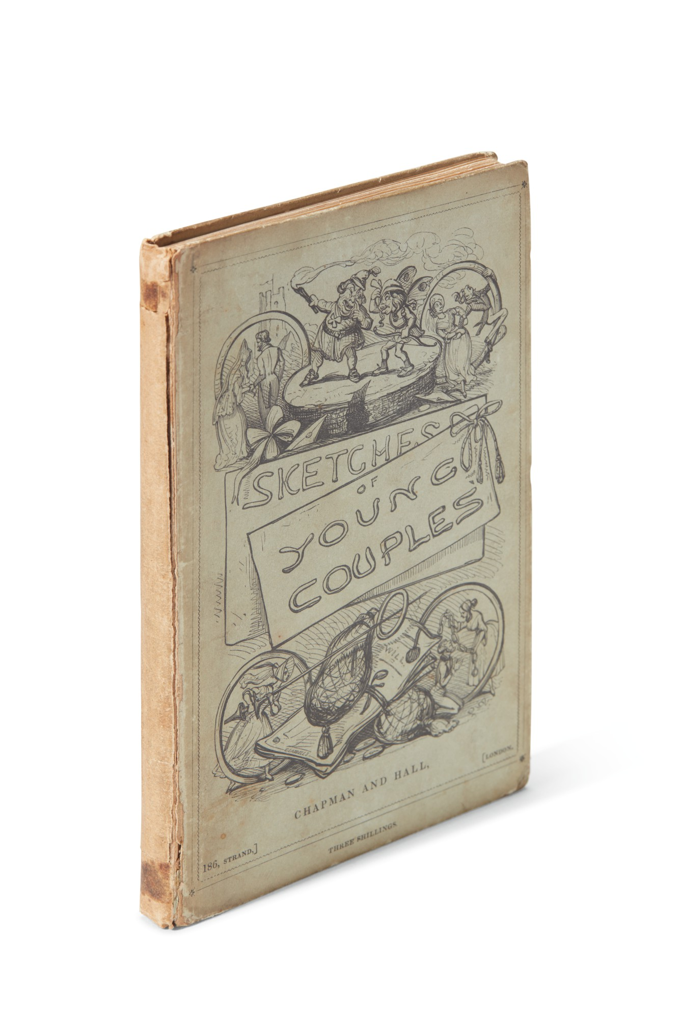 Dickens, Sketches of Young Couples, 1840, first edition
