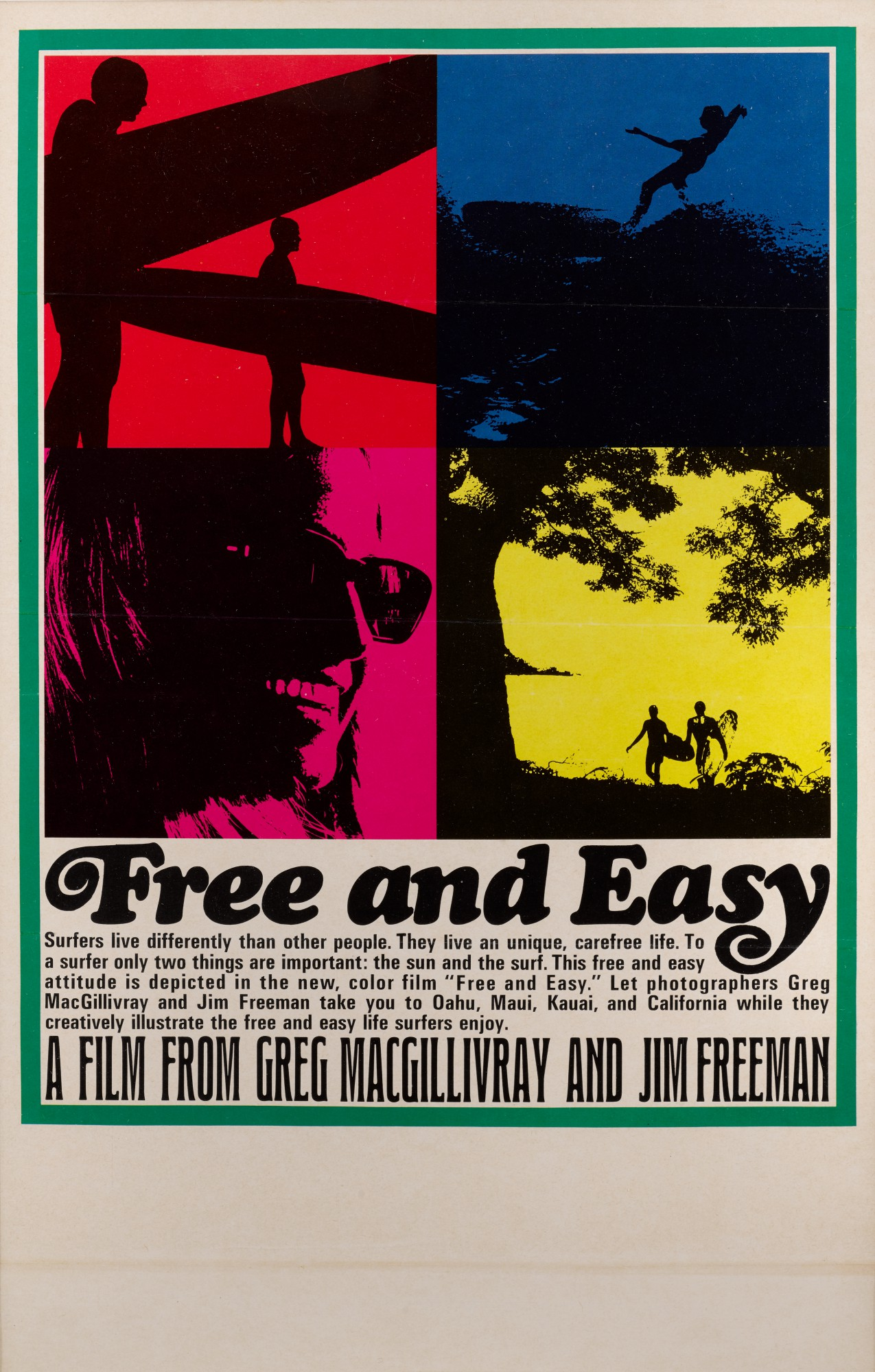 FREE AND EASY (1967) POSTER, US