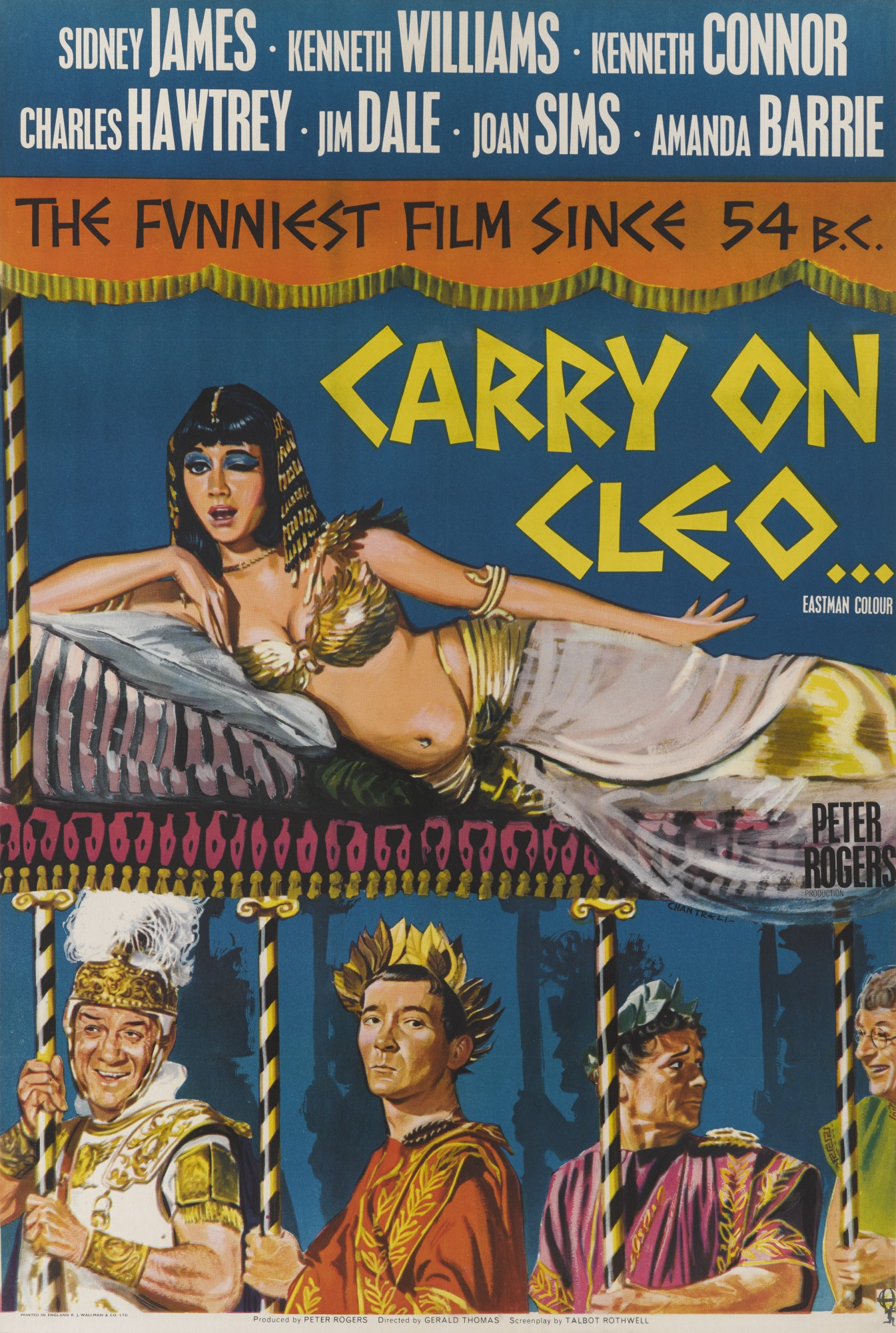 CARRY ON CLEO (1965) POSTER, BRITISH
